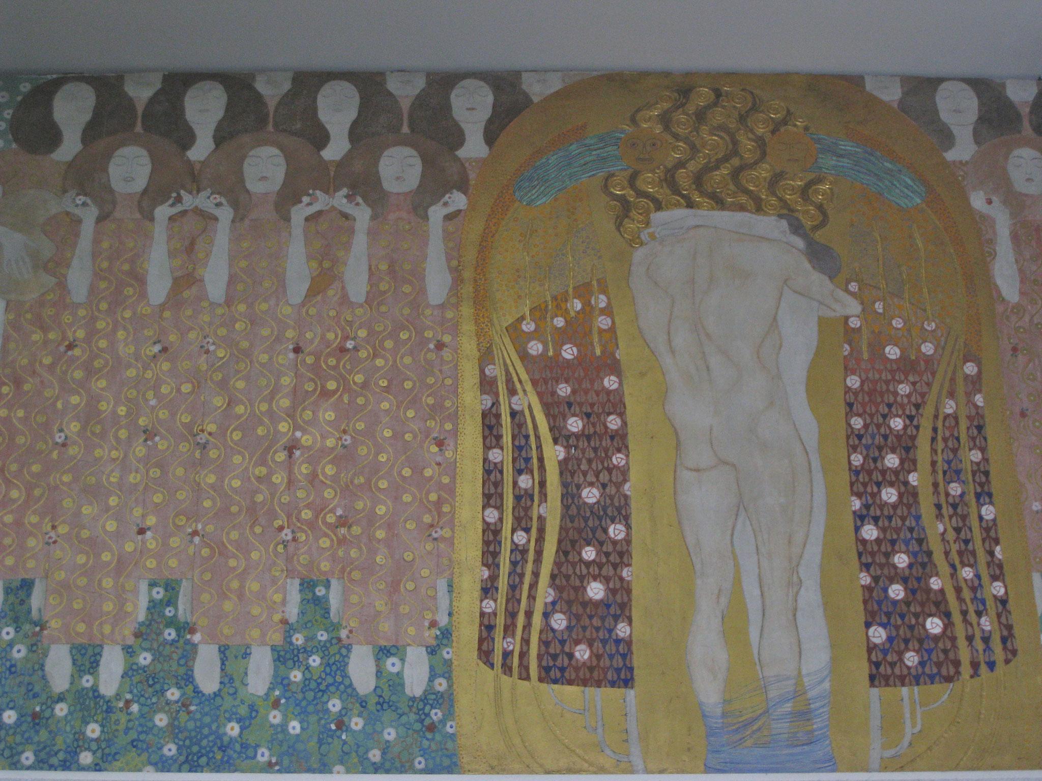 Bethofenfries von Klimt