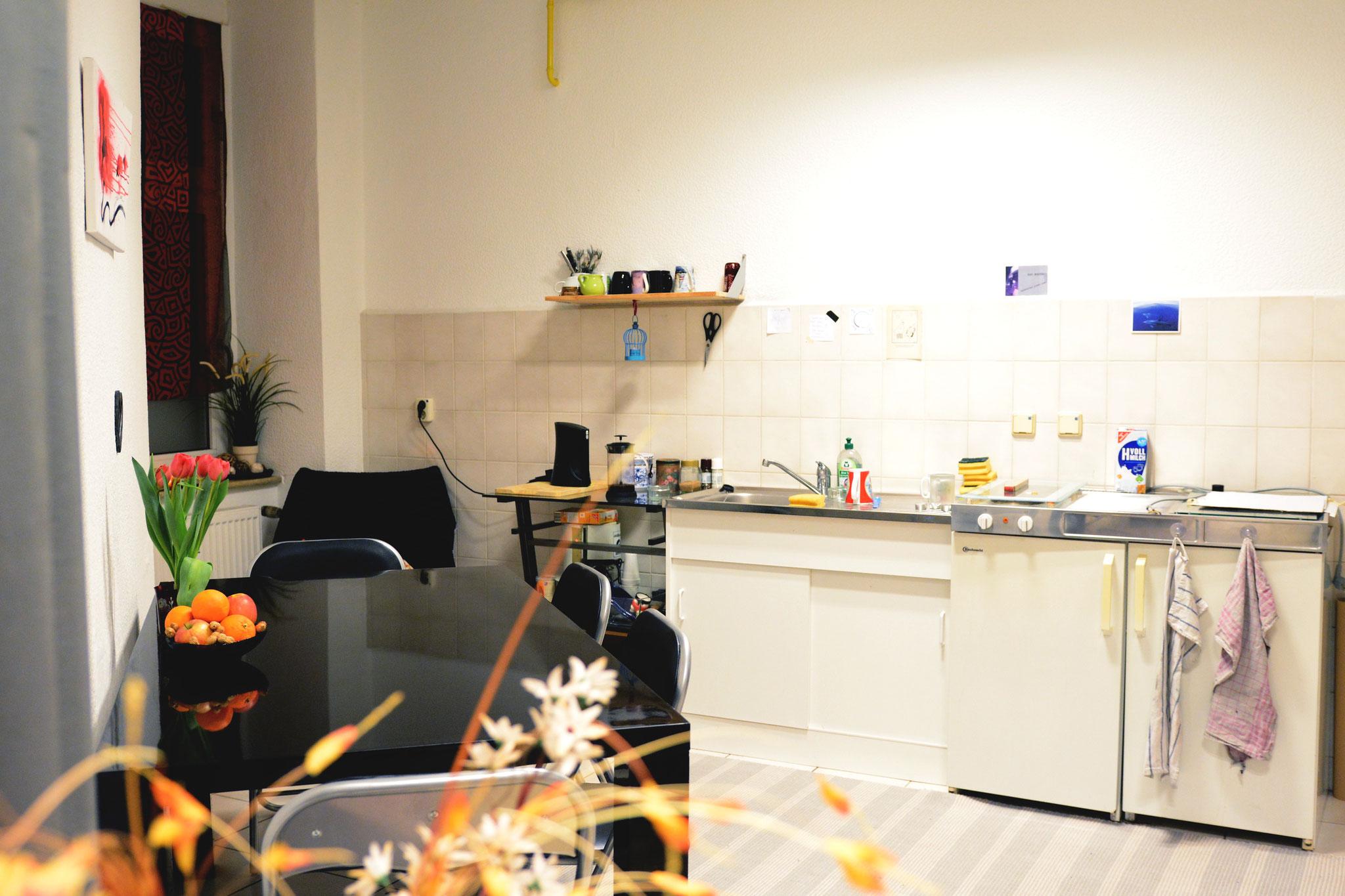 Aufenhaltsraum, (Tee)Küche, Umkleide