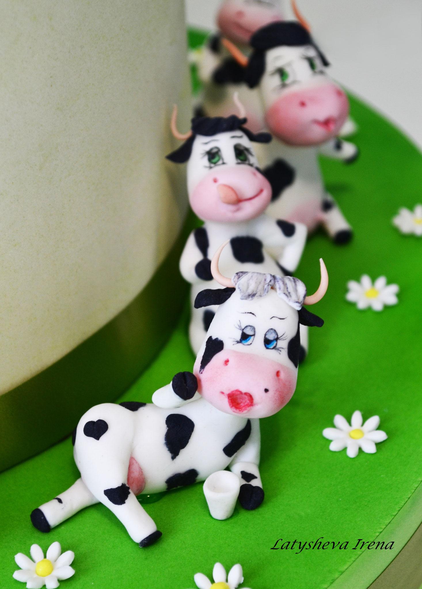 """Торт """"33 коровы"""" или """"Как ни крути, все равно 33"""""""