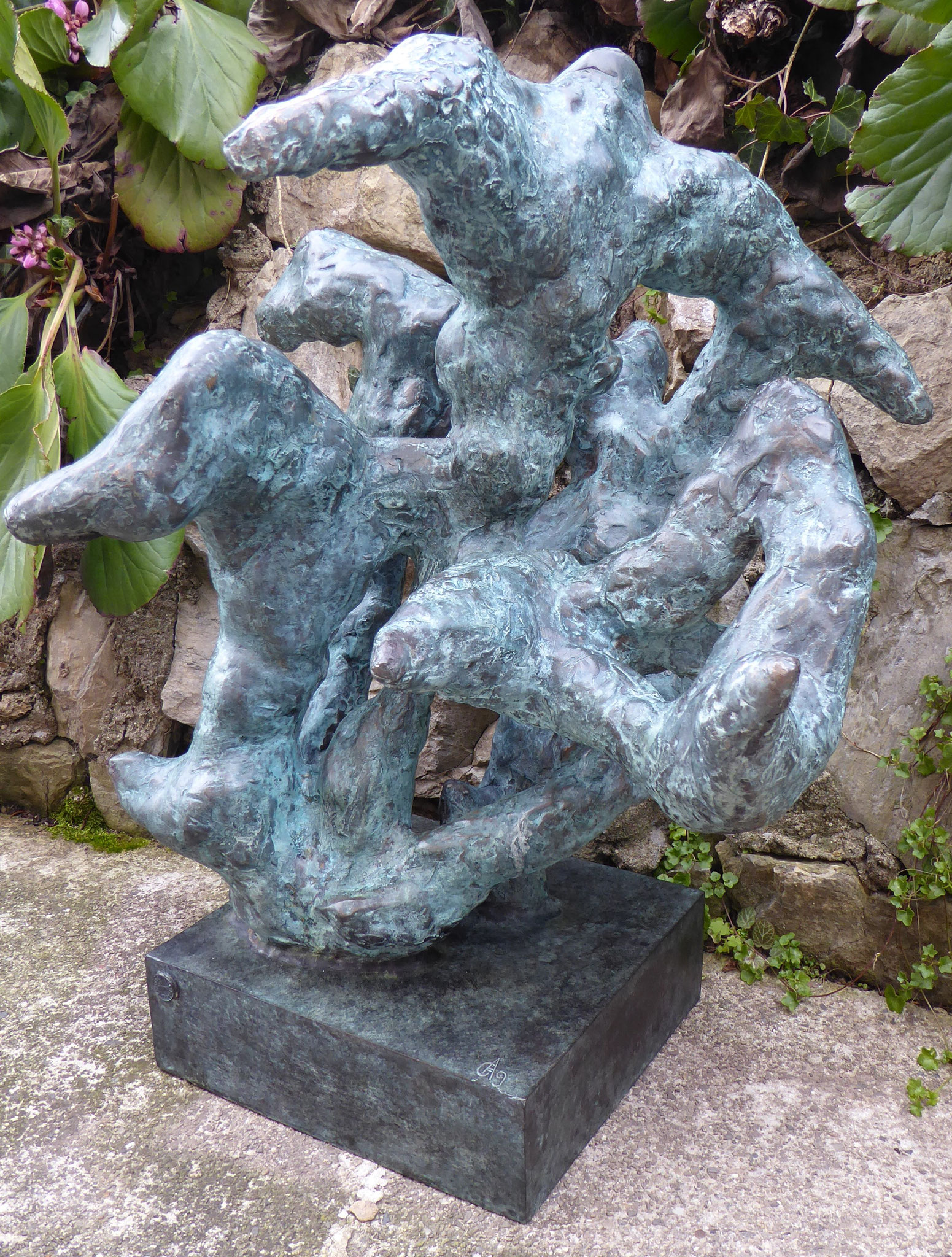 Bronzo 60 x 50 cm