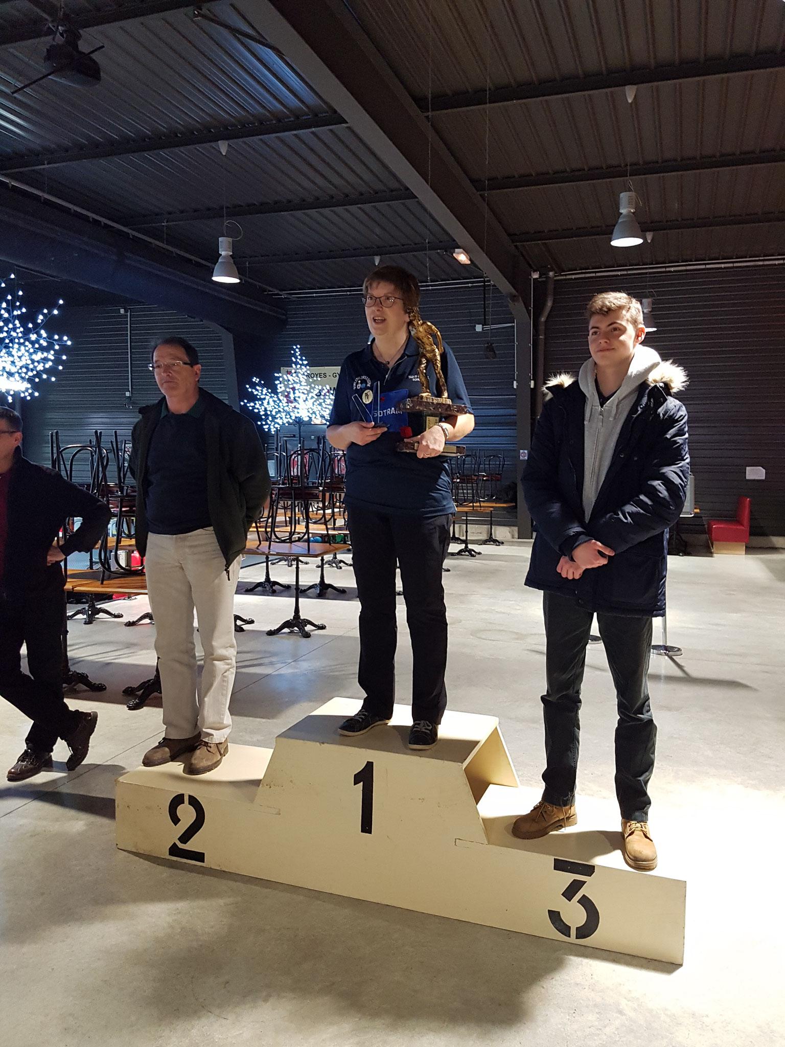 Podium Challenge du Souvenir  2017 (Classement handicap)