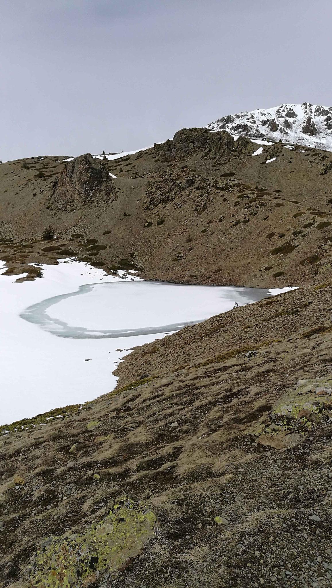 mai 2017 Sur la carte ce lac s'appelle Noir