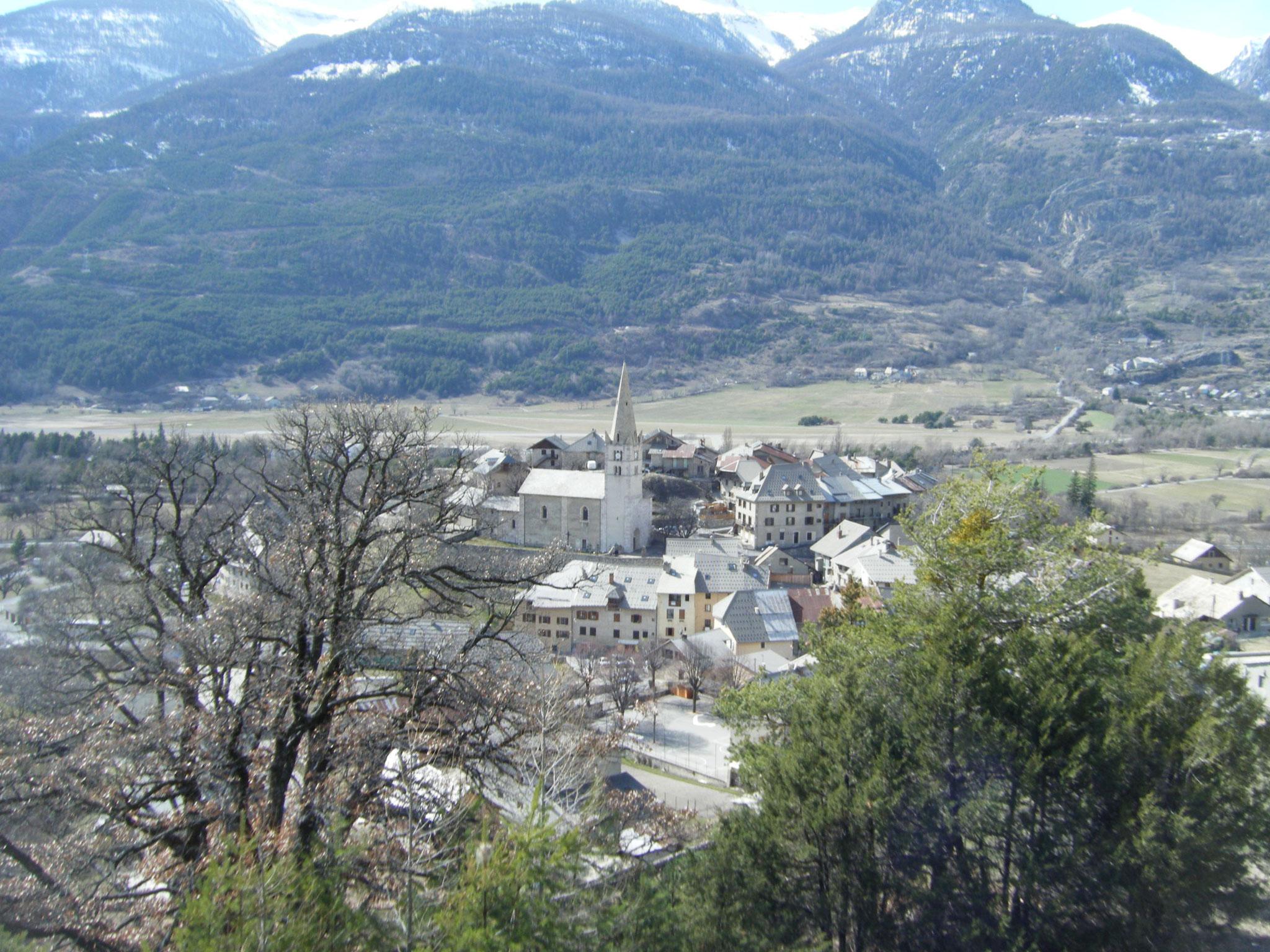 mars 2017 Vallée de la Durance Village de St Crépin.