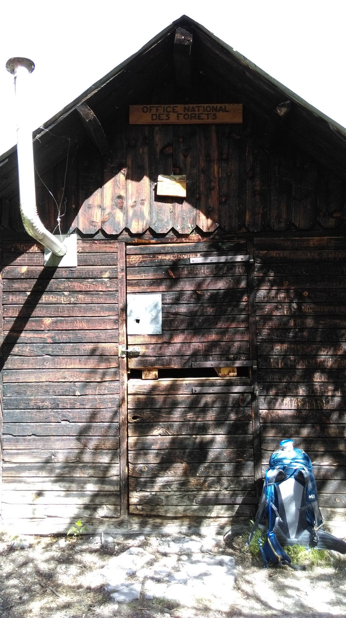 mai 2017 Cabane de Chouvet