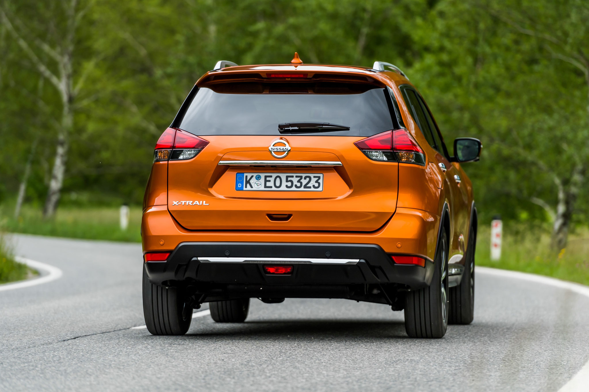 X-trail orange colorado version Tekna