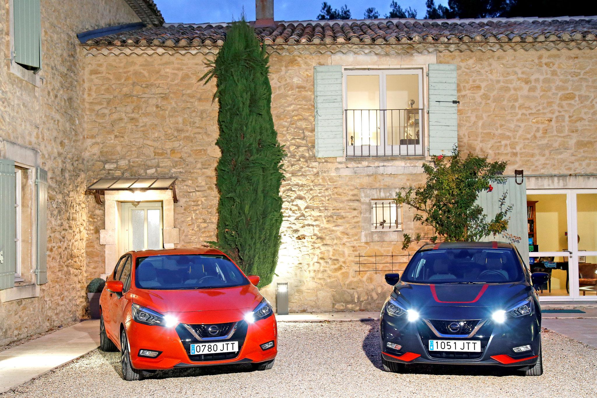 Nissan Micra TEKNA avec feux de route LED à 400€