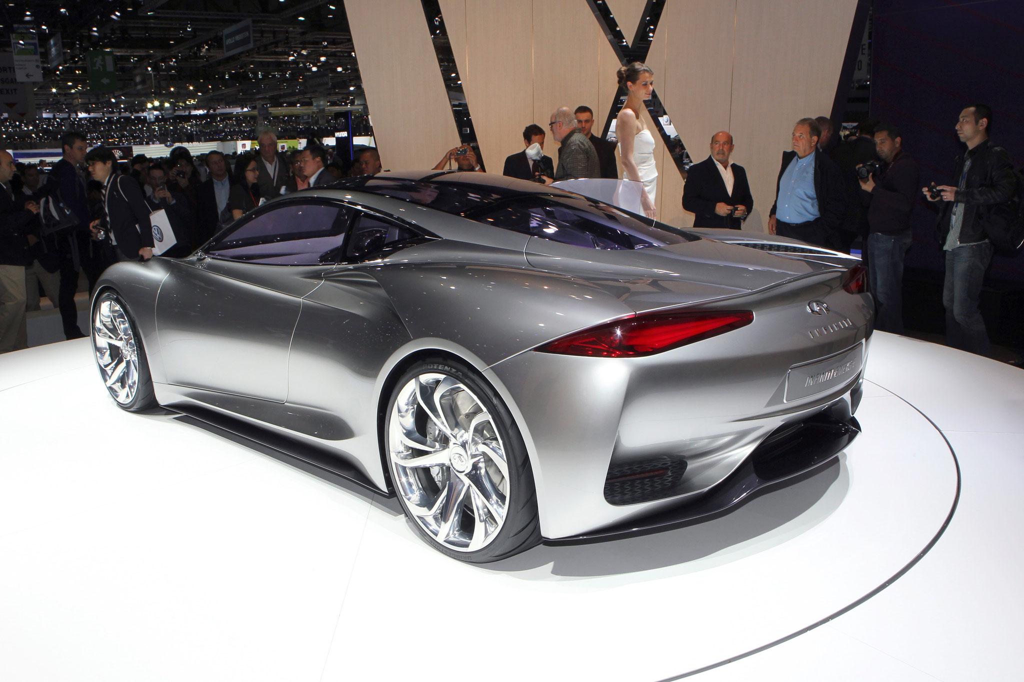 Infiniti Emerg-E concept 2014