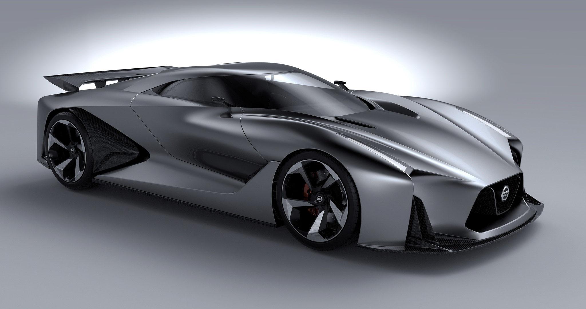 Nissan concept 2020, 2014