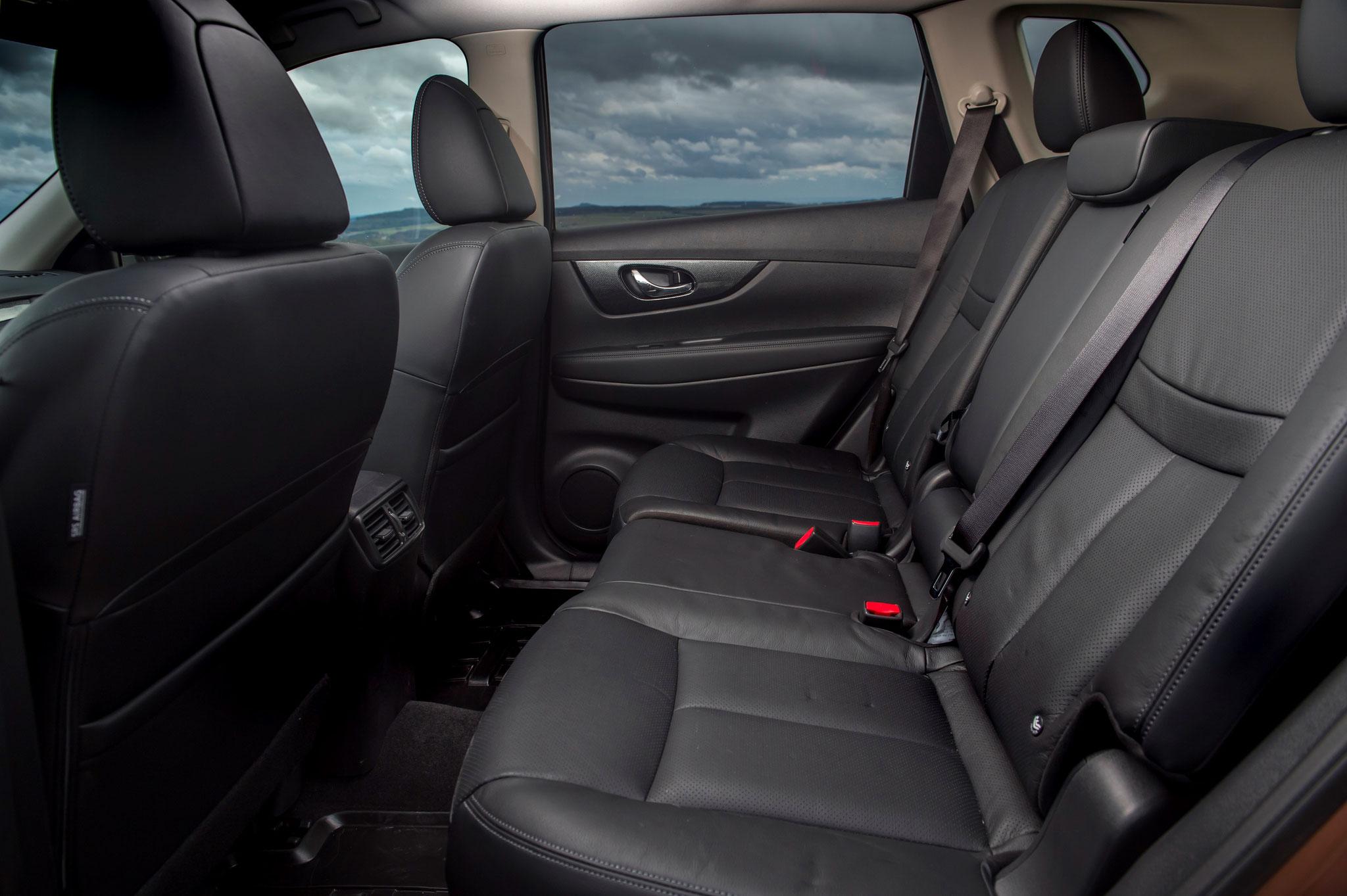 Nissan X-trail tekna intérieur cuir noir