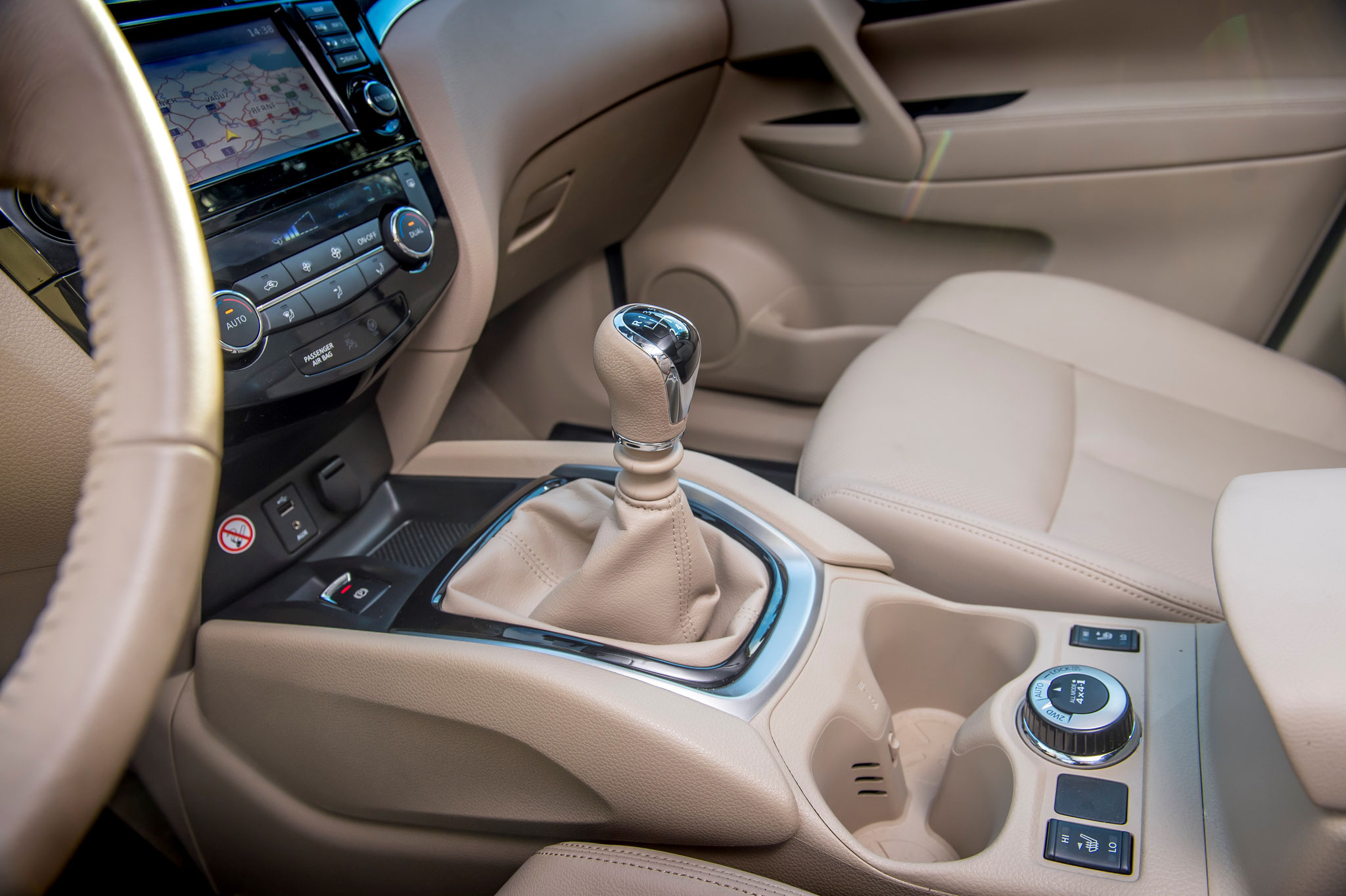 Nissan X-trail tekna intérieur cuir beige