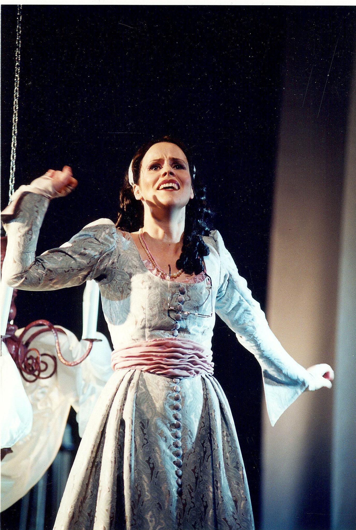 """Gräfin im """"Wildschütz"""", Landestheater Neustrelitz (Herbert Krüger)"""