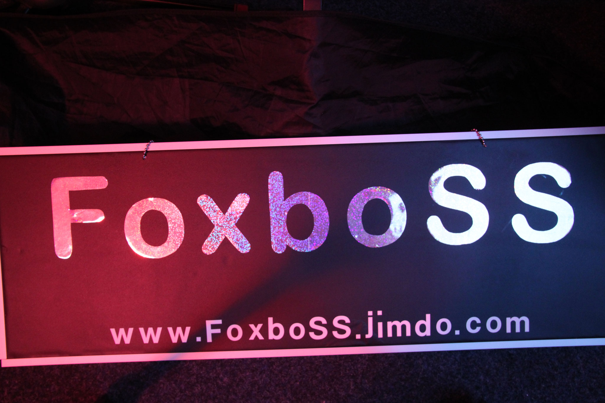 Foxboss on Stage
