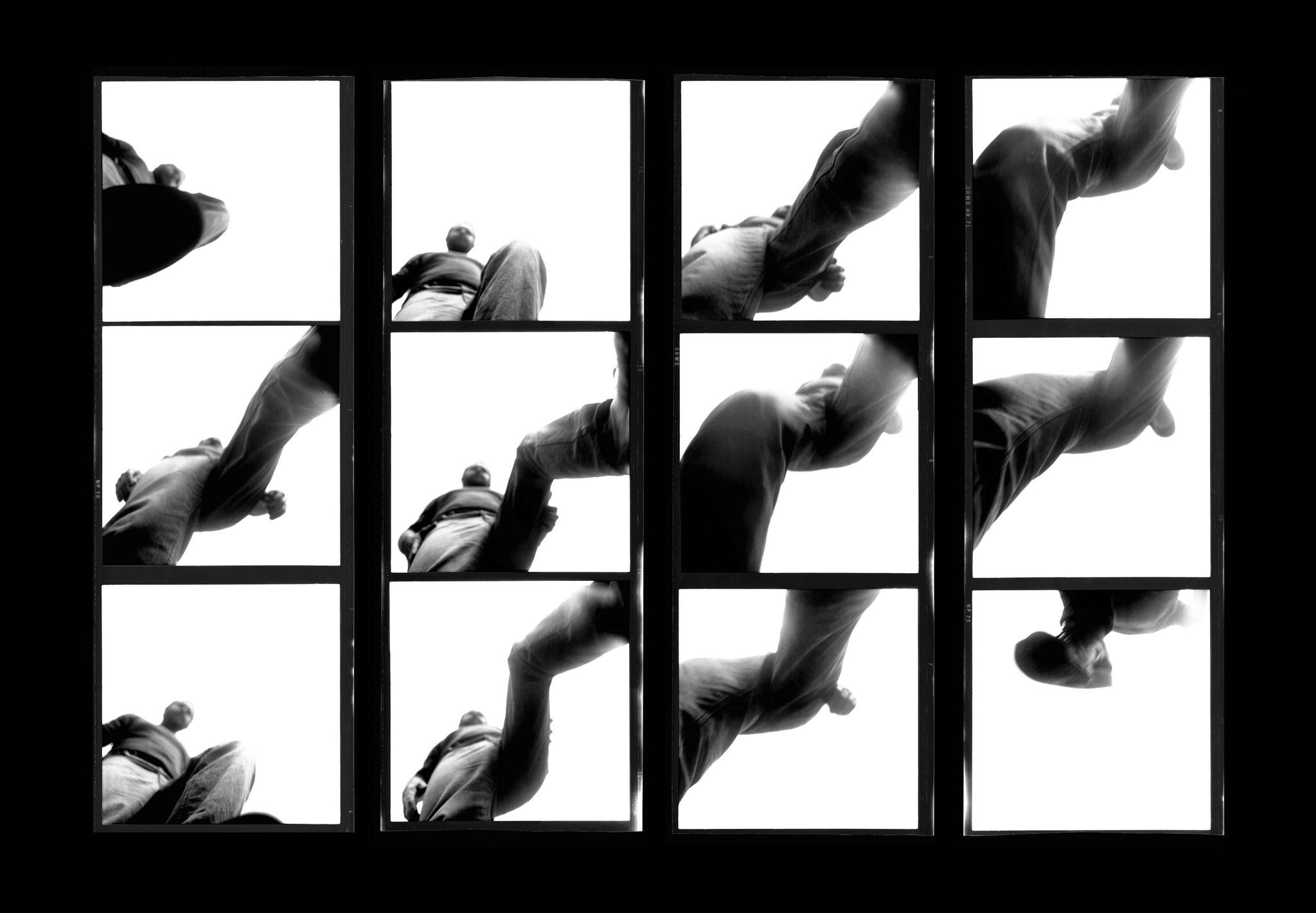 Kurt Buchwald - Überspringen 1985 43 x 62 cm