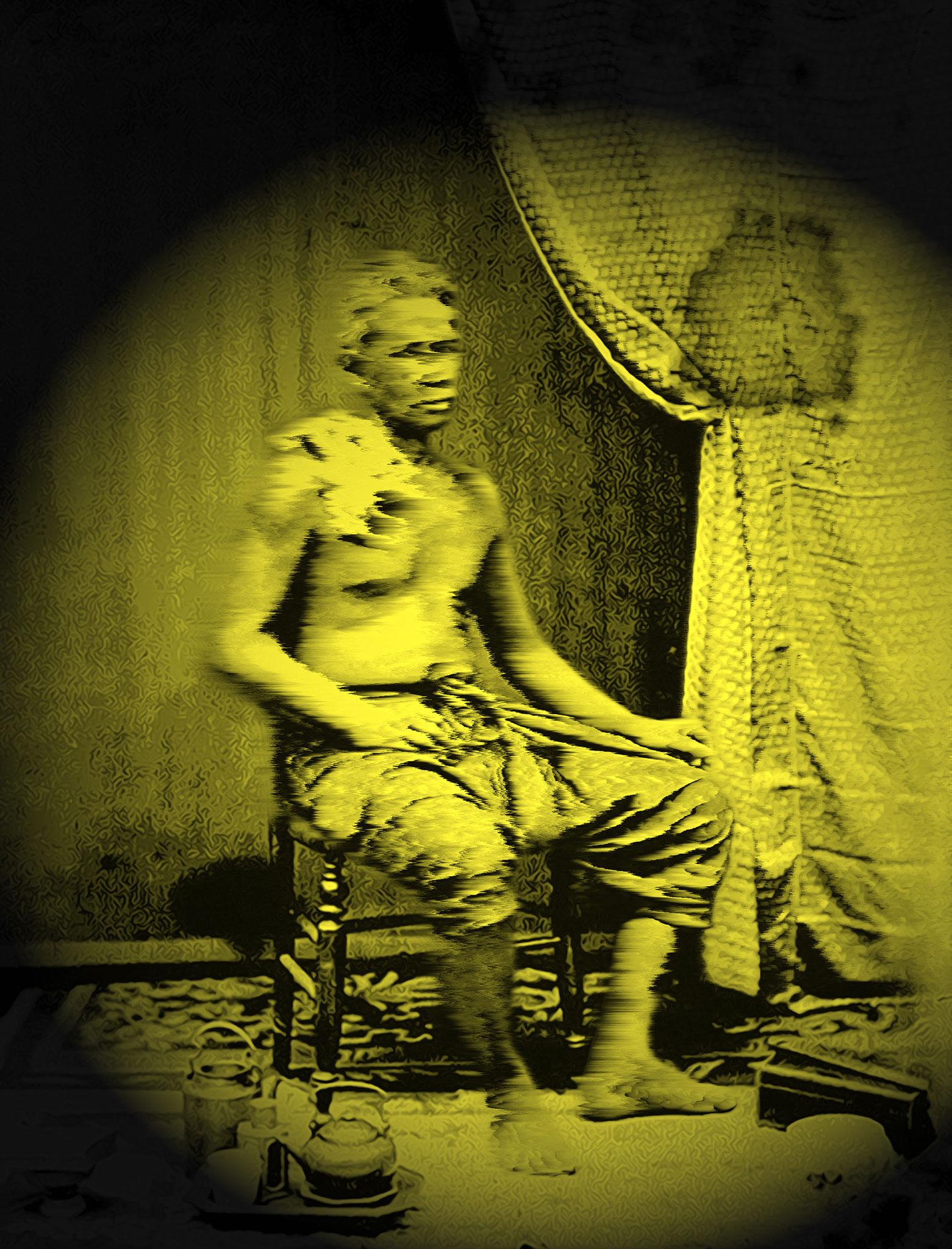 Resting soldier, Siam