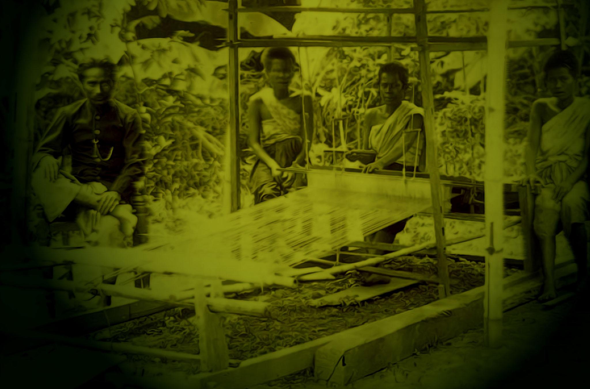 Traditional weavers