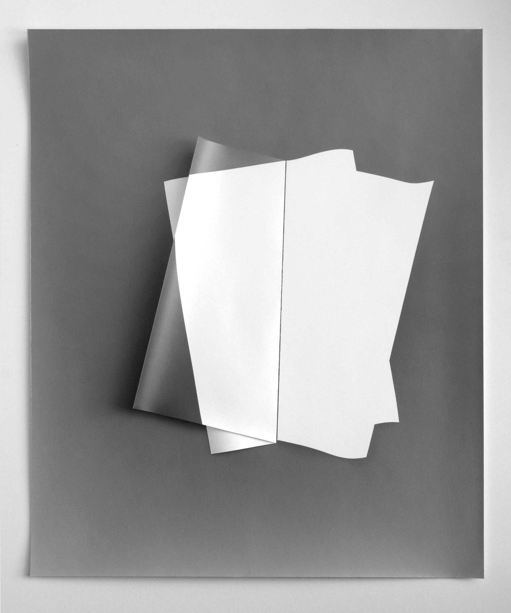 o.T. Fotopapierarbeit III-1-2, 2011. 50 x 60 cm