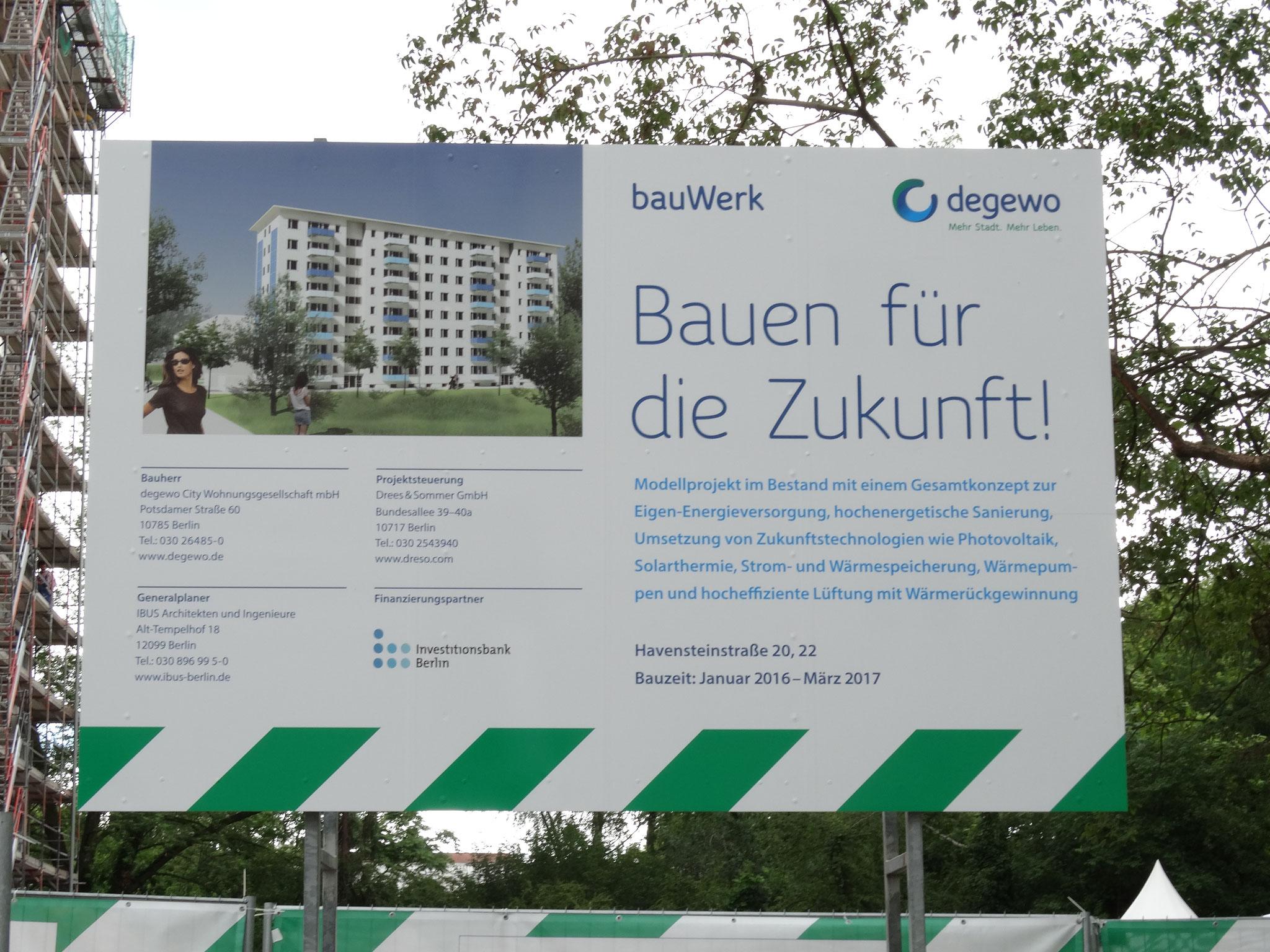 Wohnanlage Havensteinstraße 20, 22 in 12249 Berlin - Zukunftshaus-