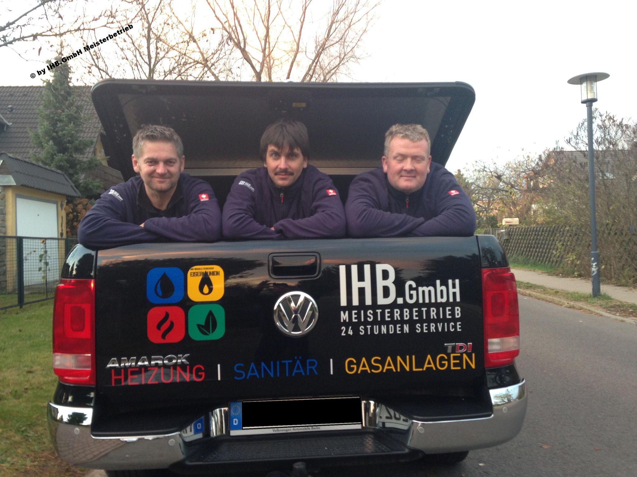 Bauleitung - Gemeinsam zum Erfolg - IHB.GmbH Meisterbetrieb