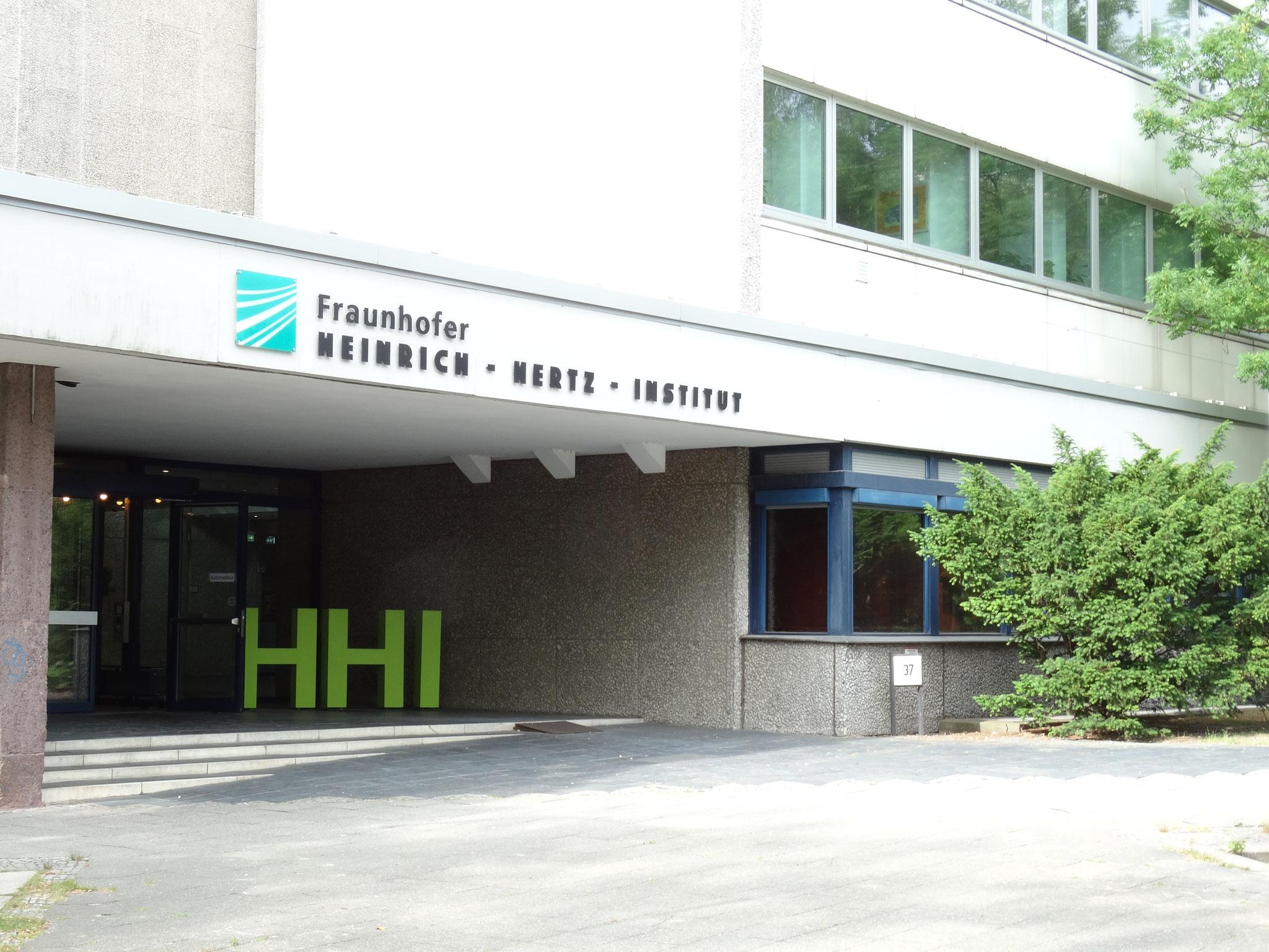 Fraunhofer Institut für Nachrichtentechnik Heinrich-Herz Institut