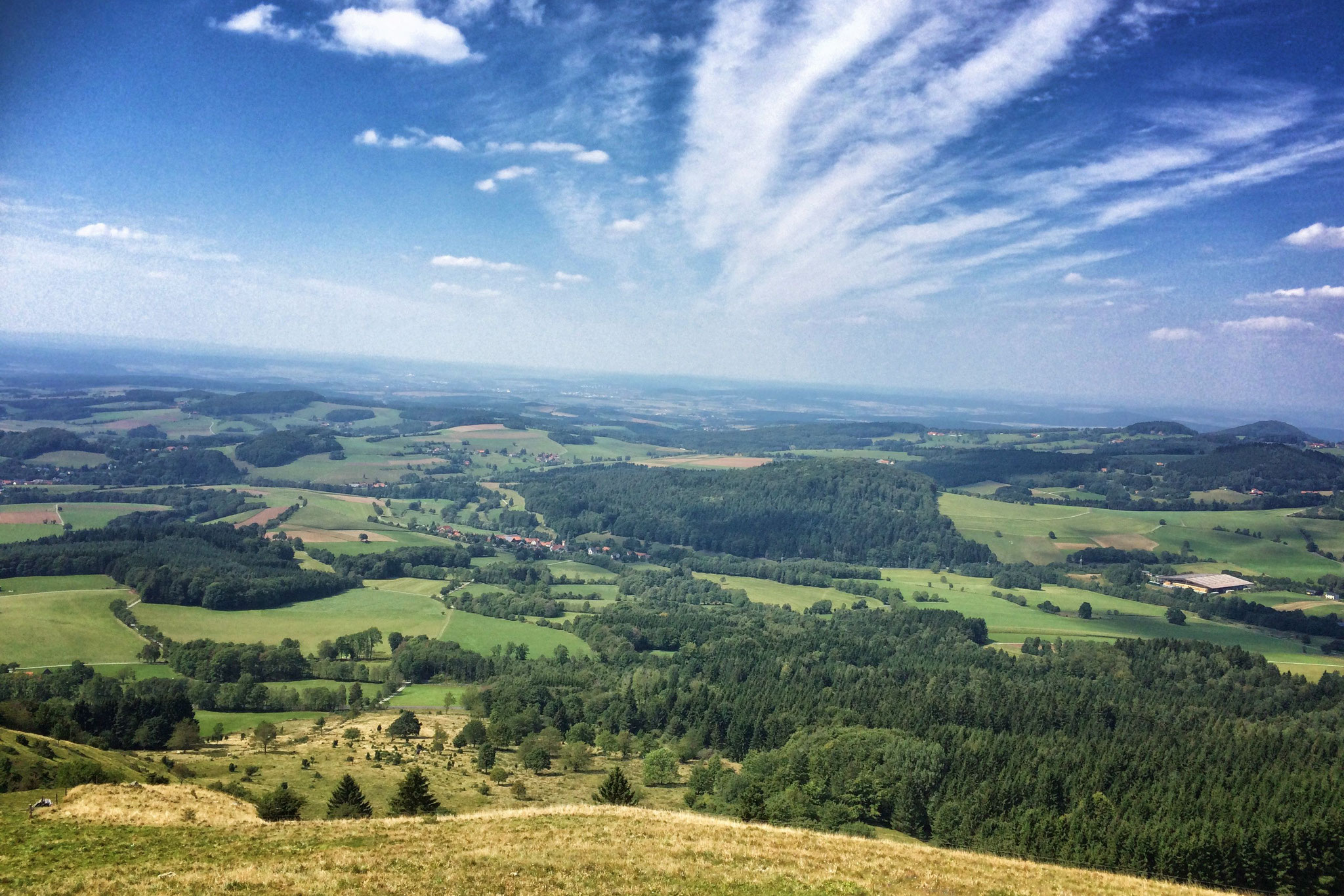 Wandergebiet Rhön - Pferdskopf