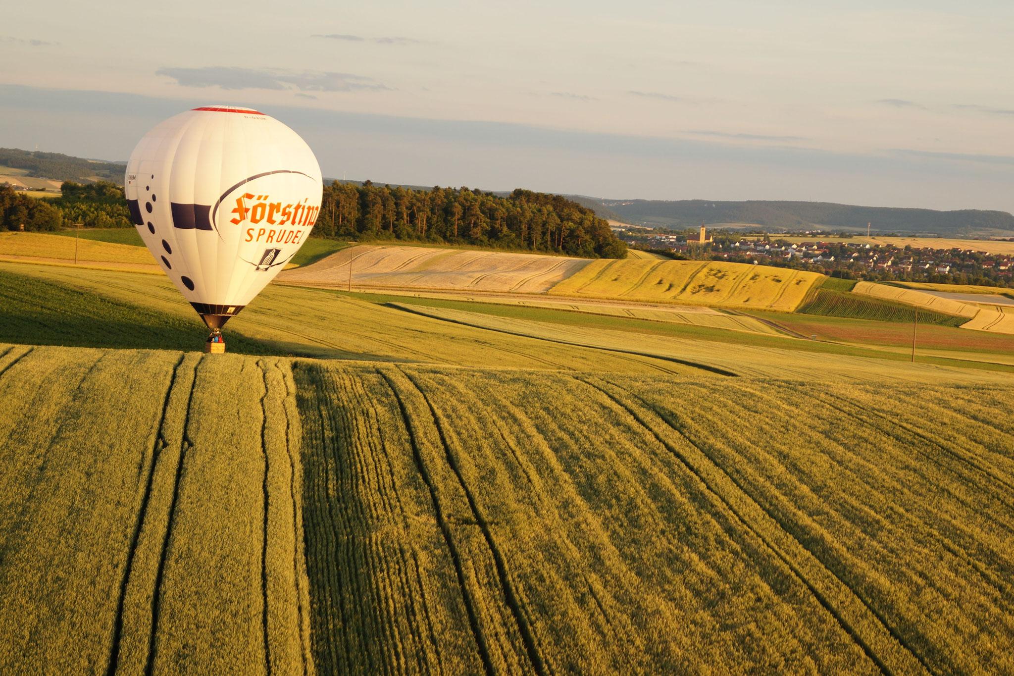 Ballonfahrt in der Rhön