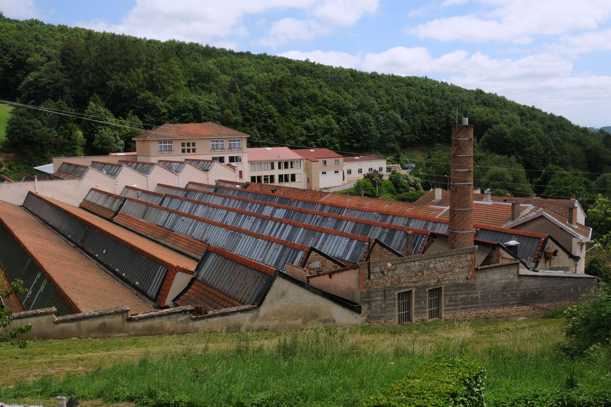 Sheds de l'usine Linder à Violay