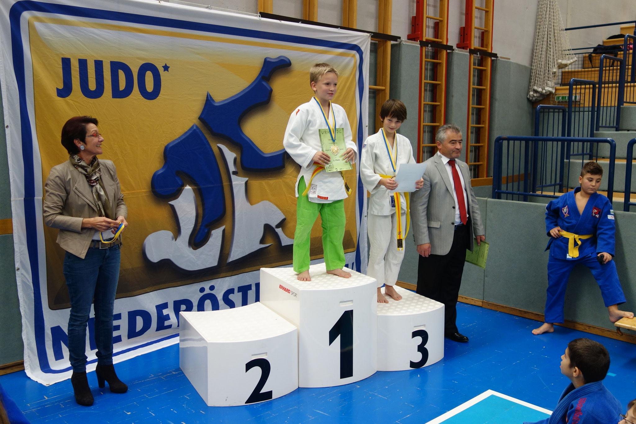 3. Platz für Salinacki Nicolai