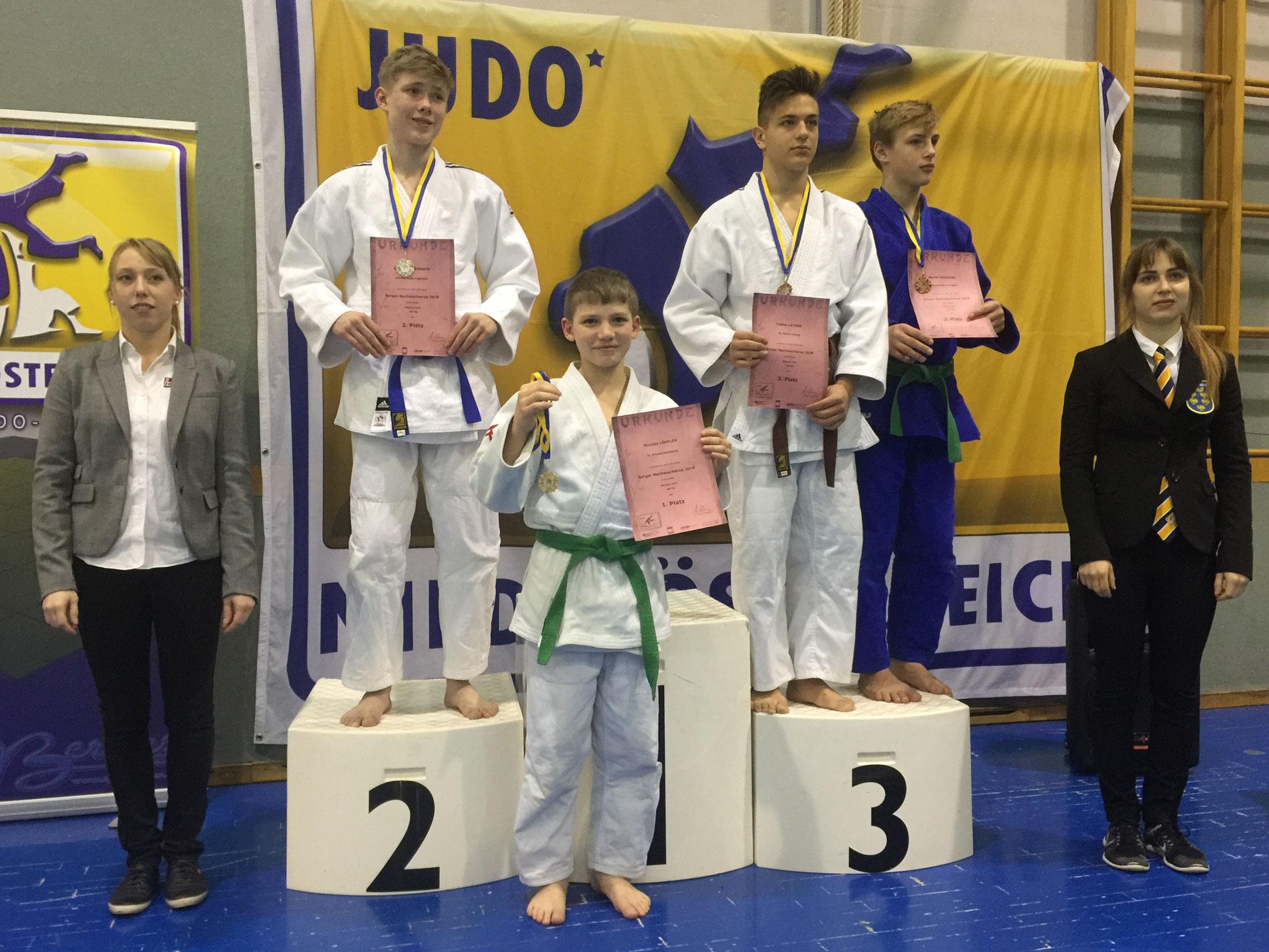 3. Platz für Tobias Leyrer U16/-66