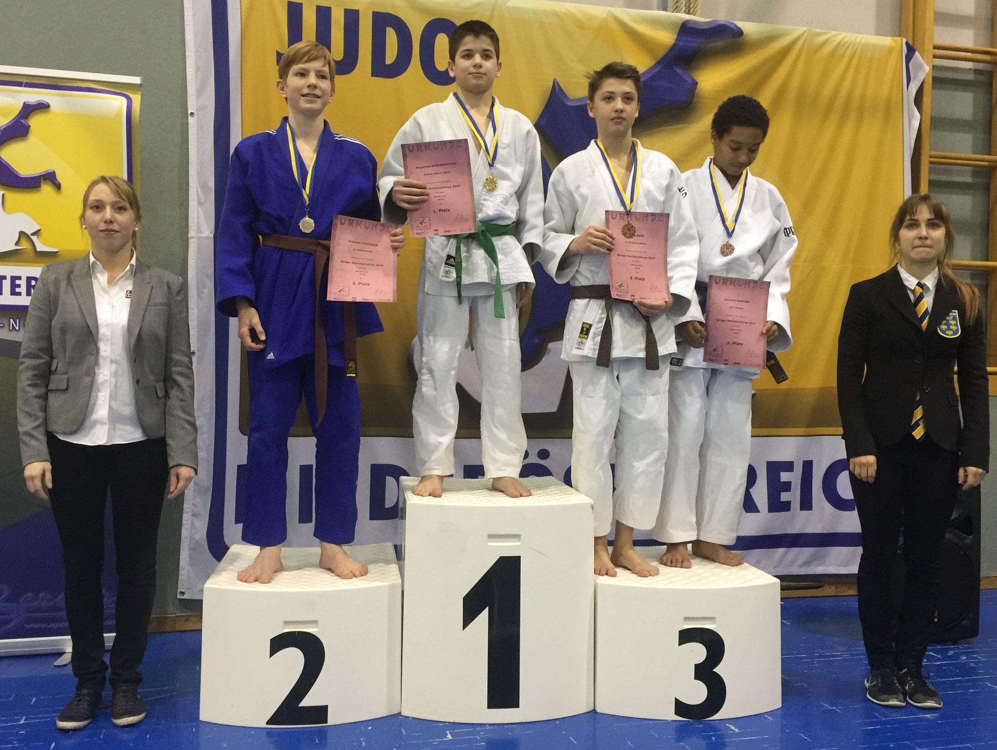 2. Platz für Andreas Puntigam U16/-50