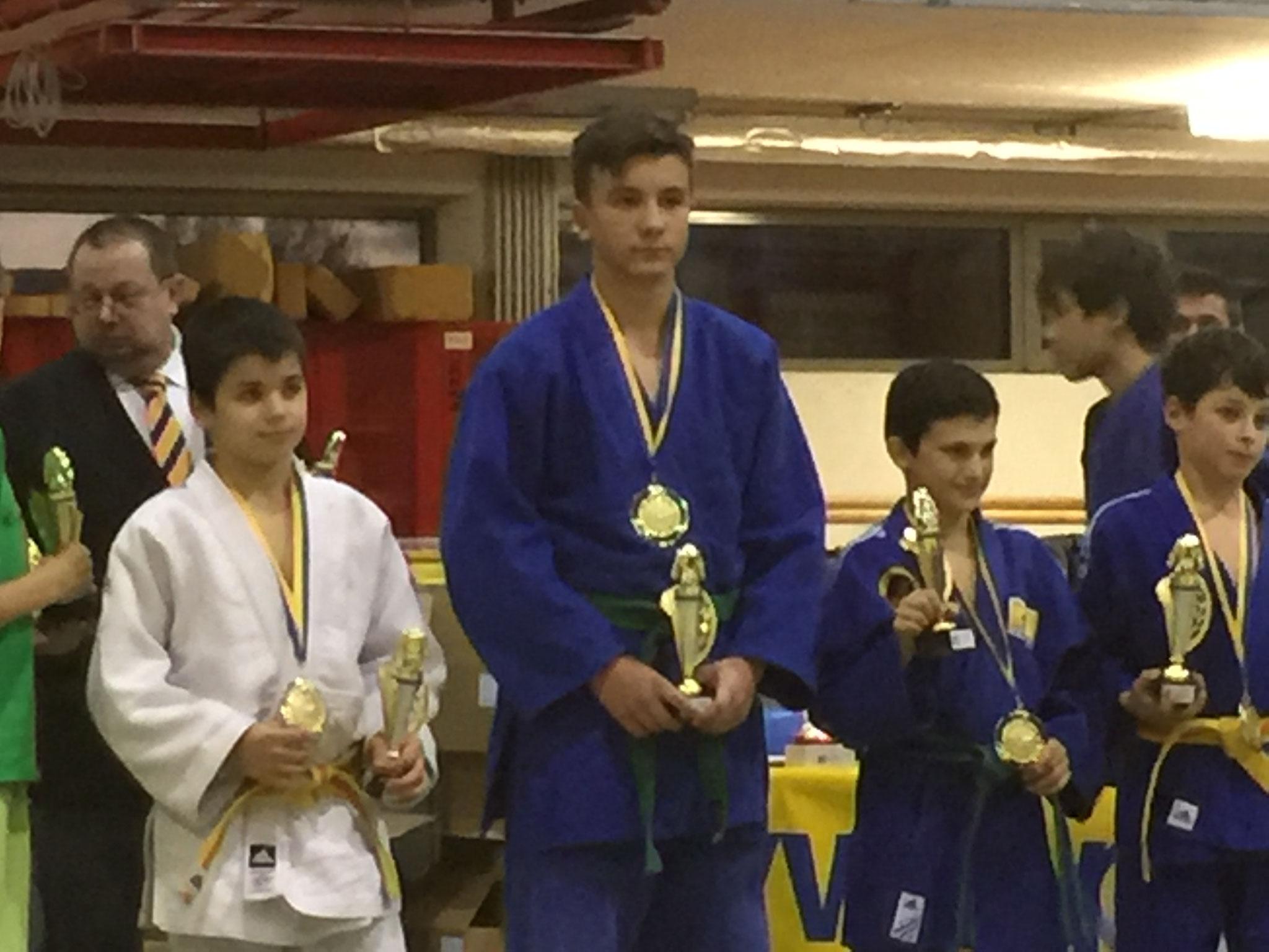 Gold-Platzierung Gesamtwertung - Julian Riedinger