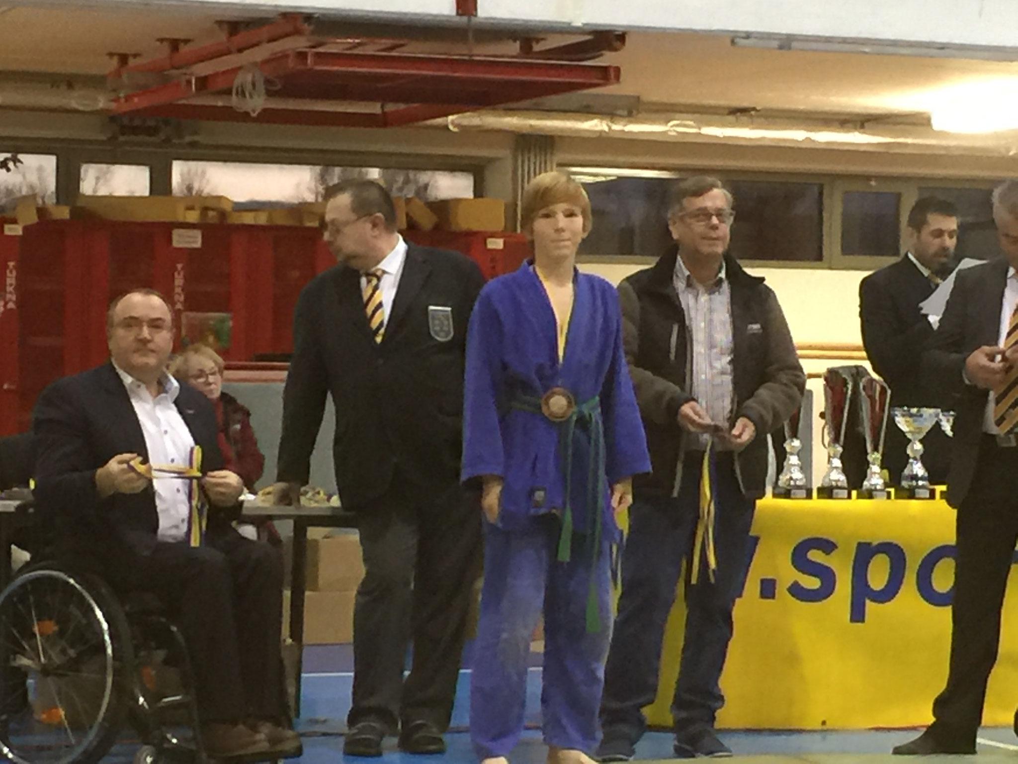 Bronze-Platzierung Gesamtwertung - Andreas Puntigam
