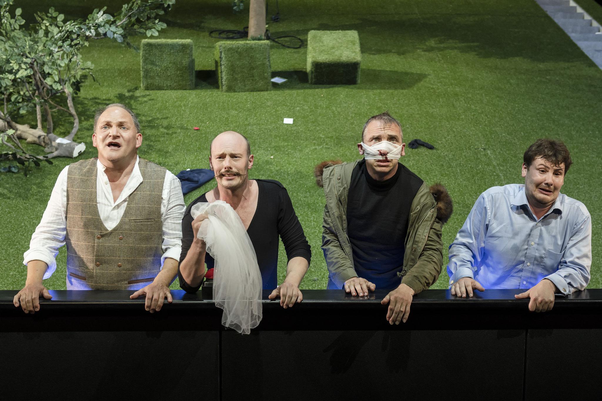 Claudio; Viel Lärm um Nichts - Theater Augsburg (2018)