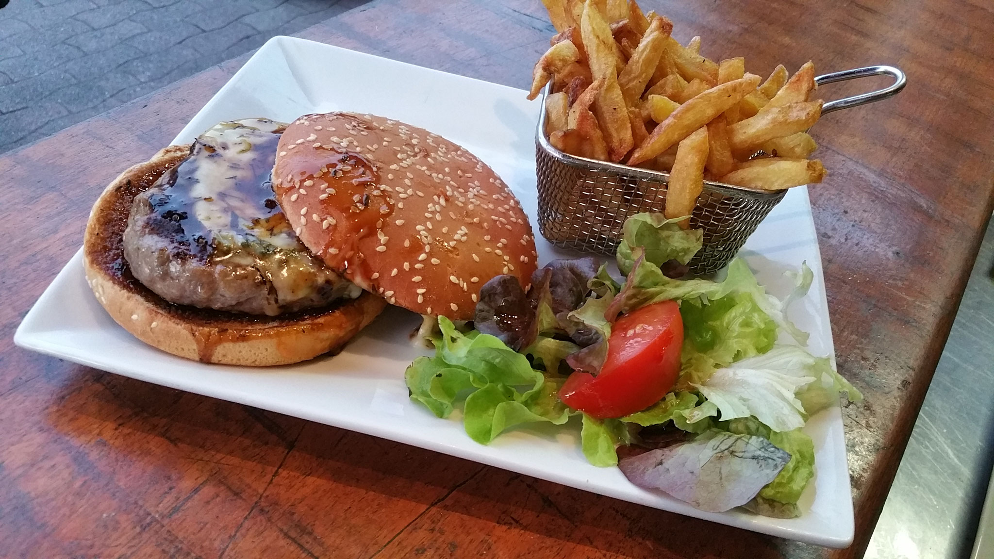 Burger « Duck Tav »