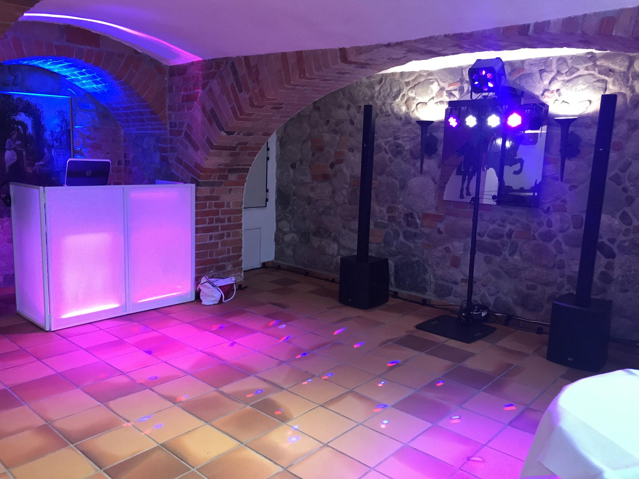 DJ Hochzeit Schloss Schorssow