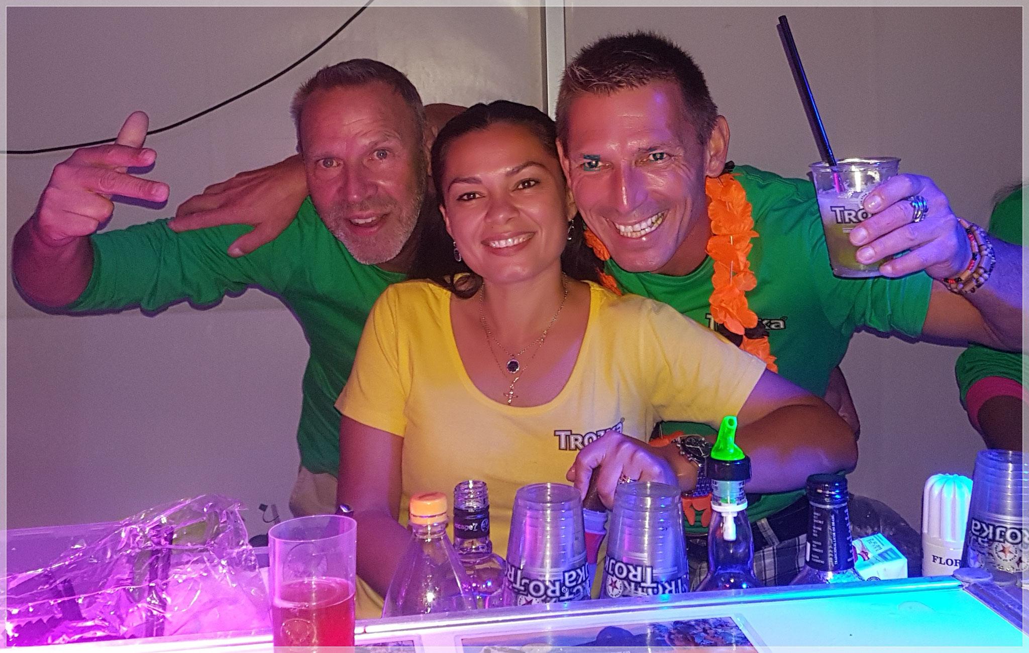 Tube, Shura & Andy