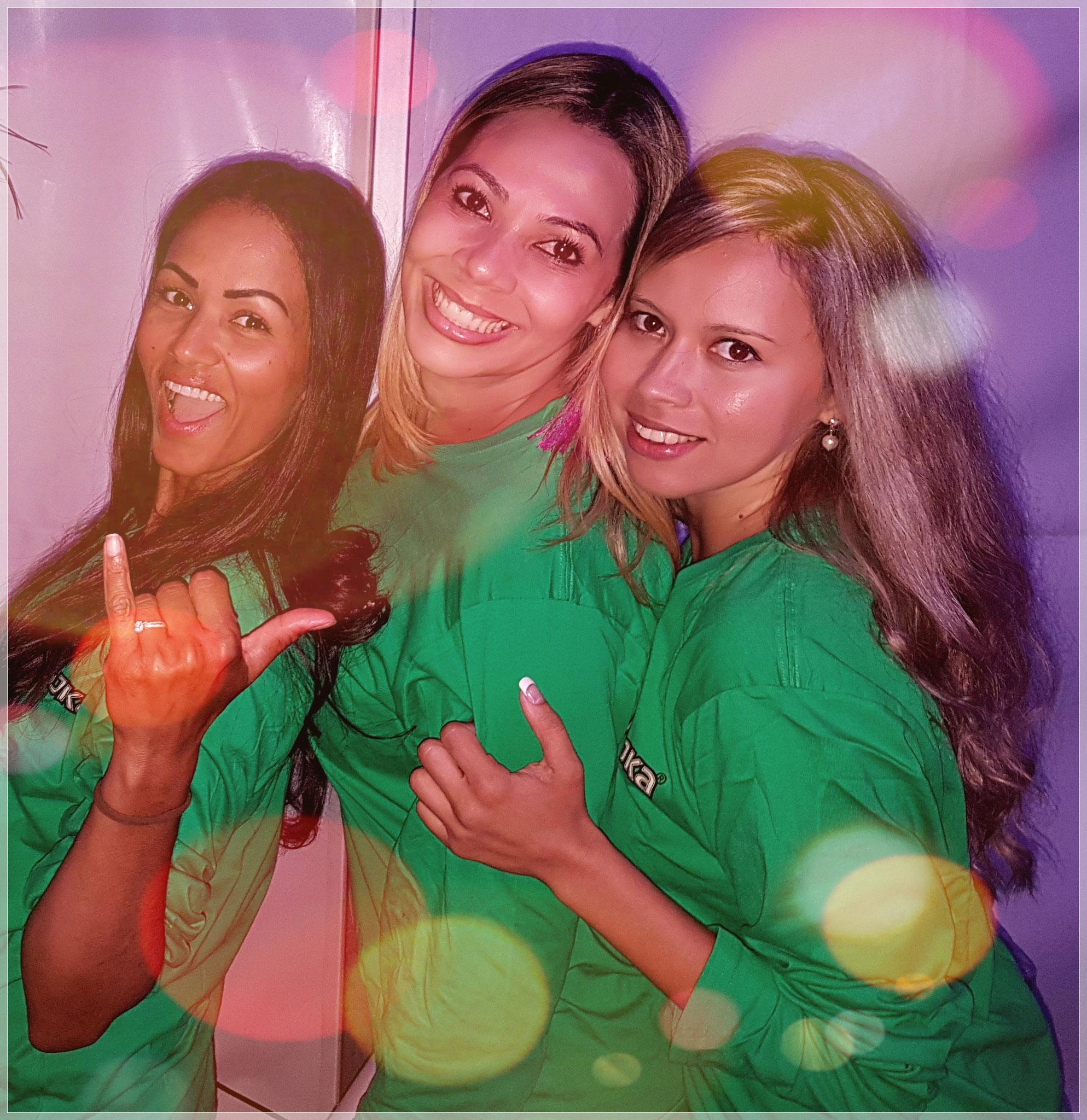 Simone, Mara & Mislene