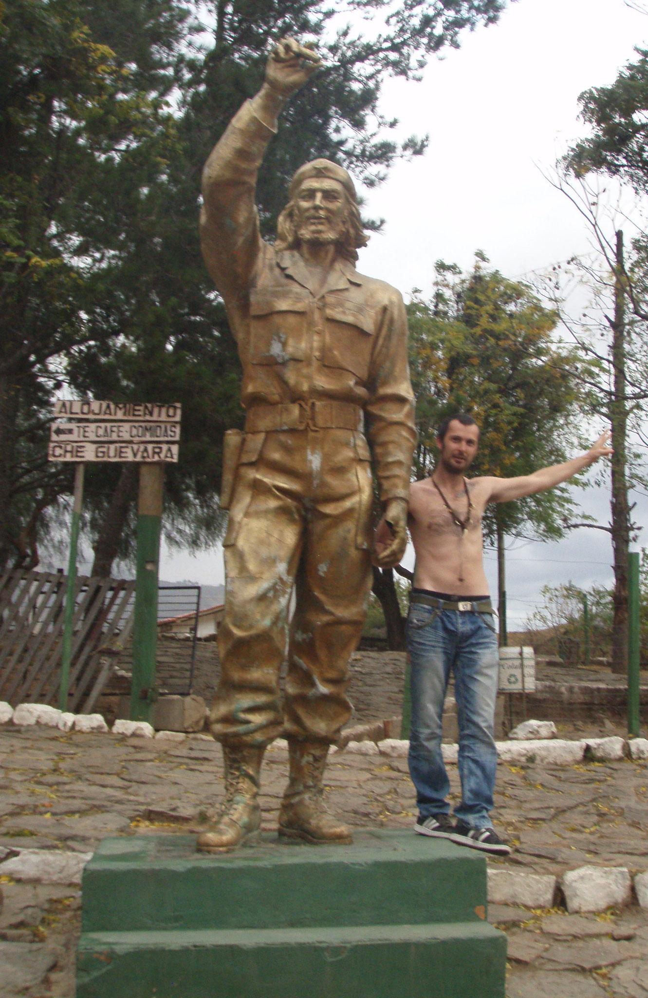 Bolivien XII - La Higuera Che