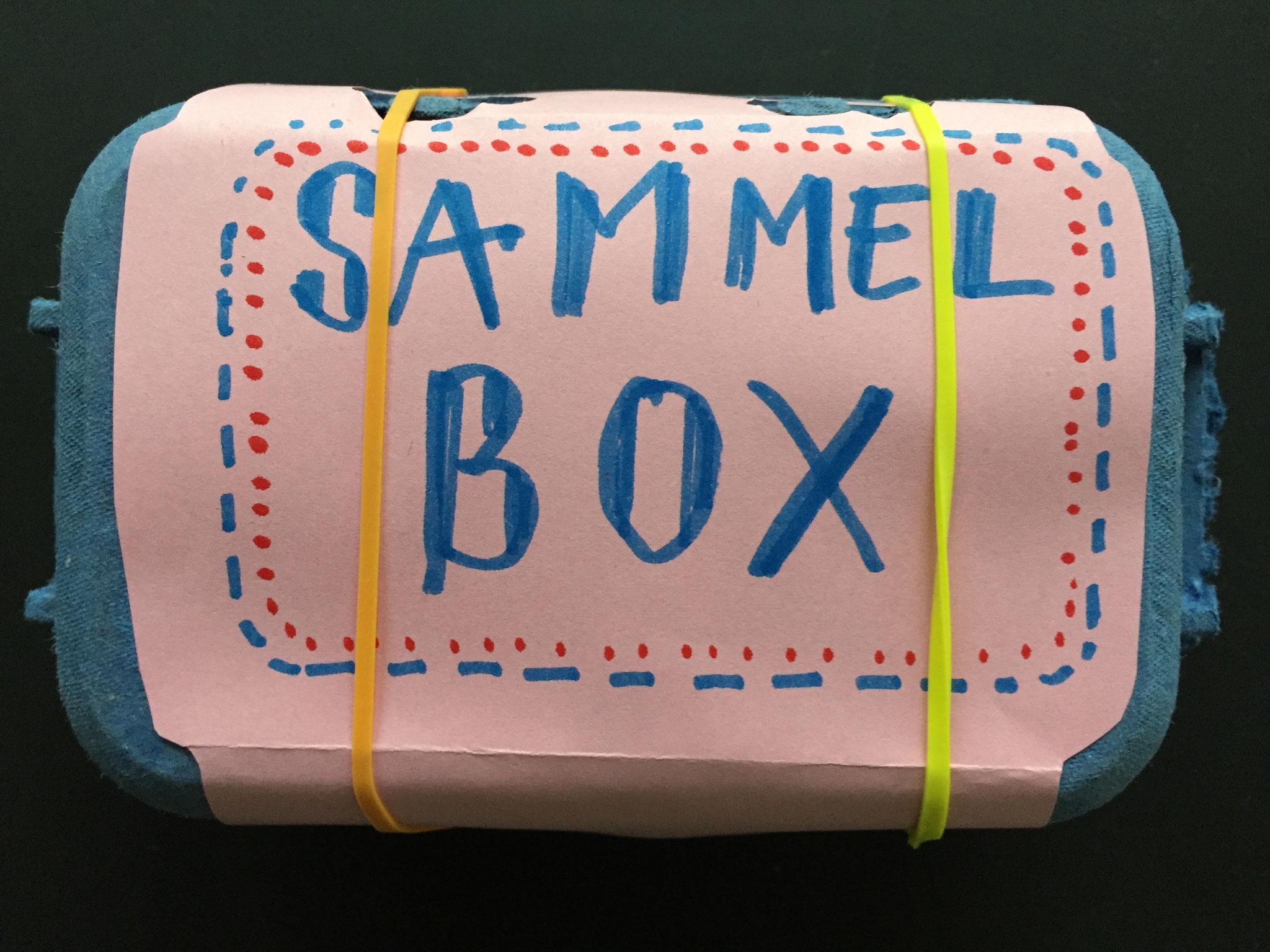 Natürlich kannst du die Box auch völlig anders gestalten .......