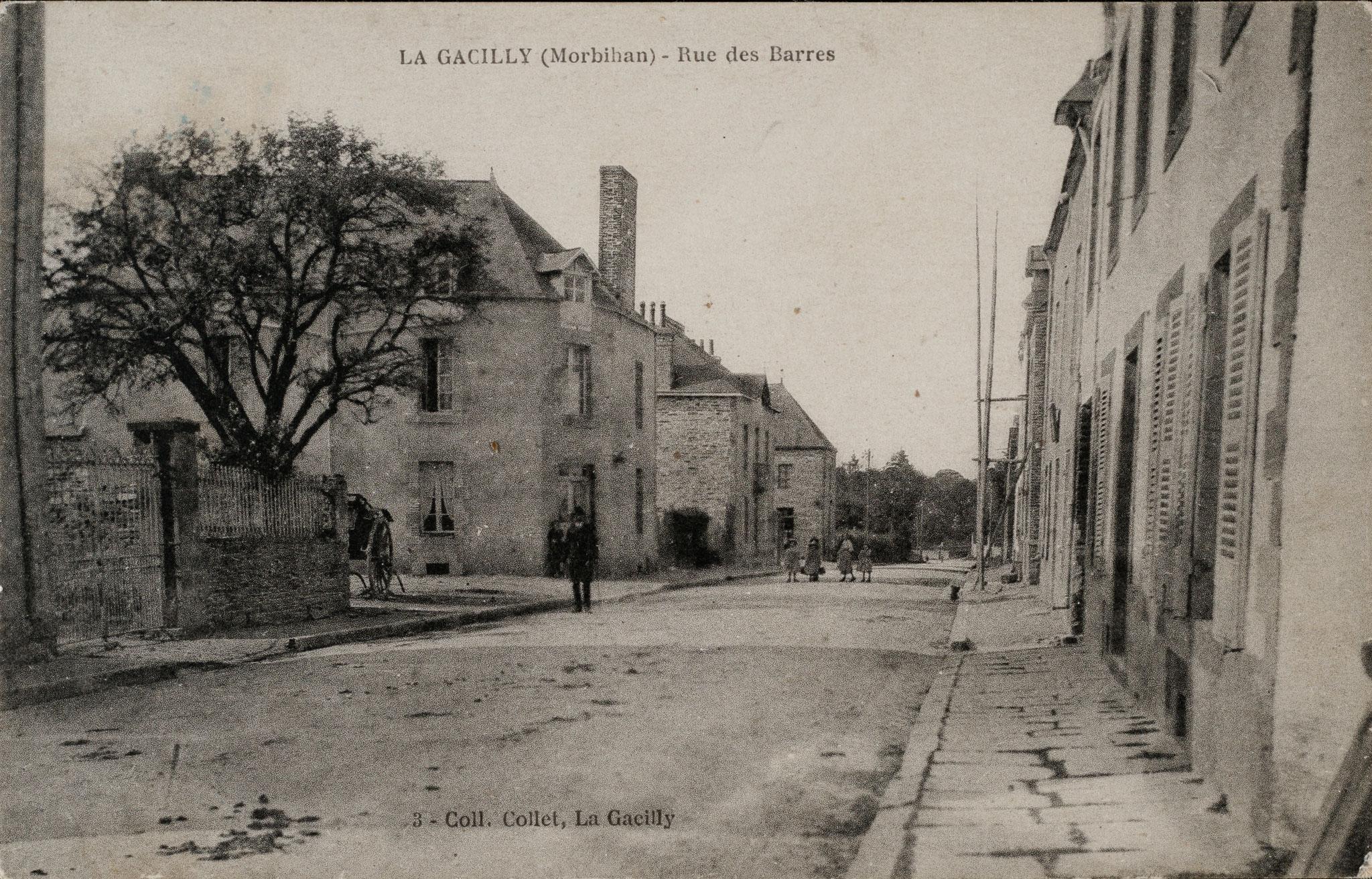 Rue des Barres, aujourd'hui Antoine Monteil.