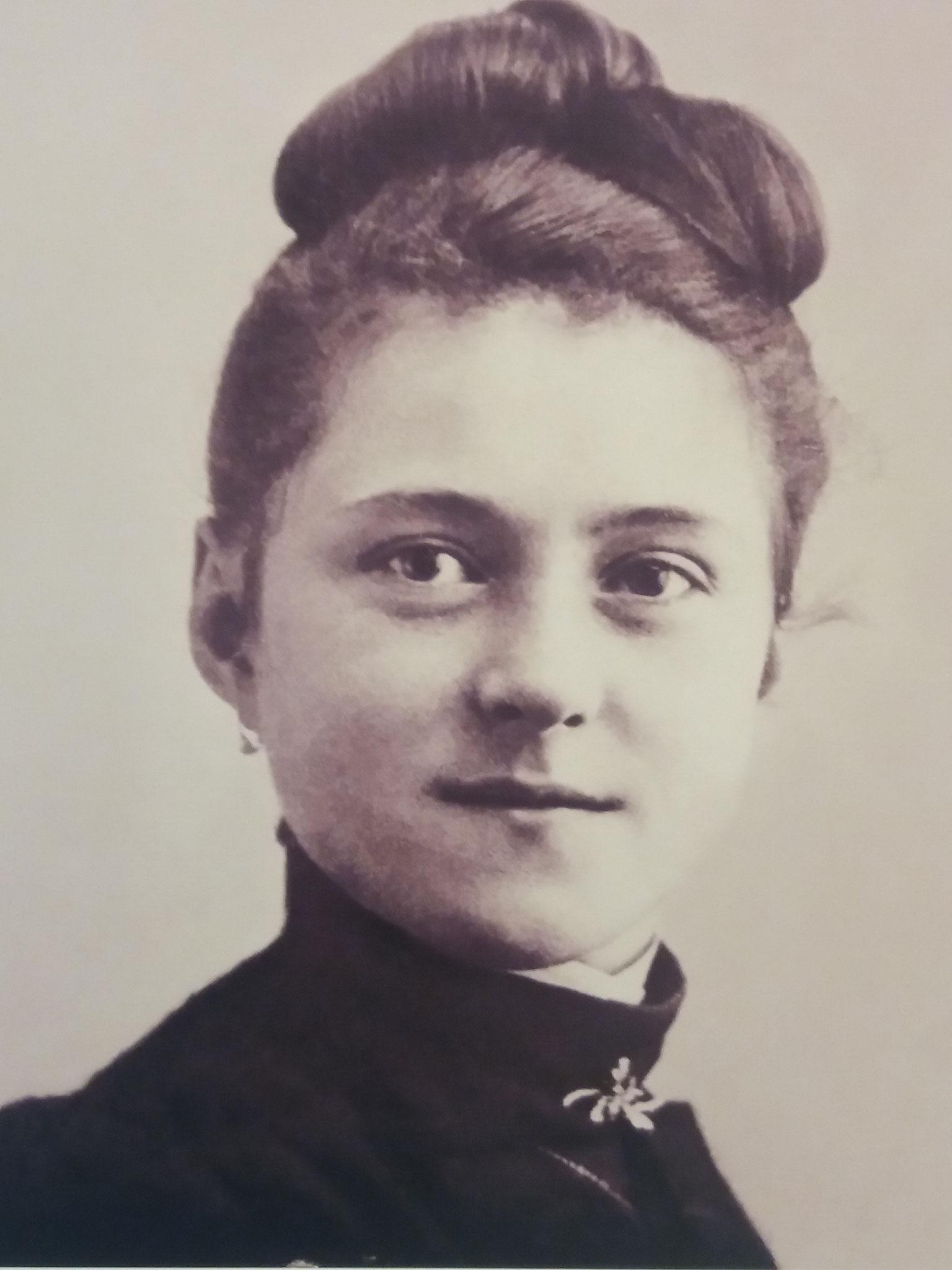 Thérèse jeune fille