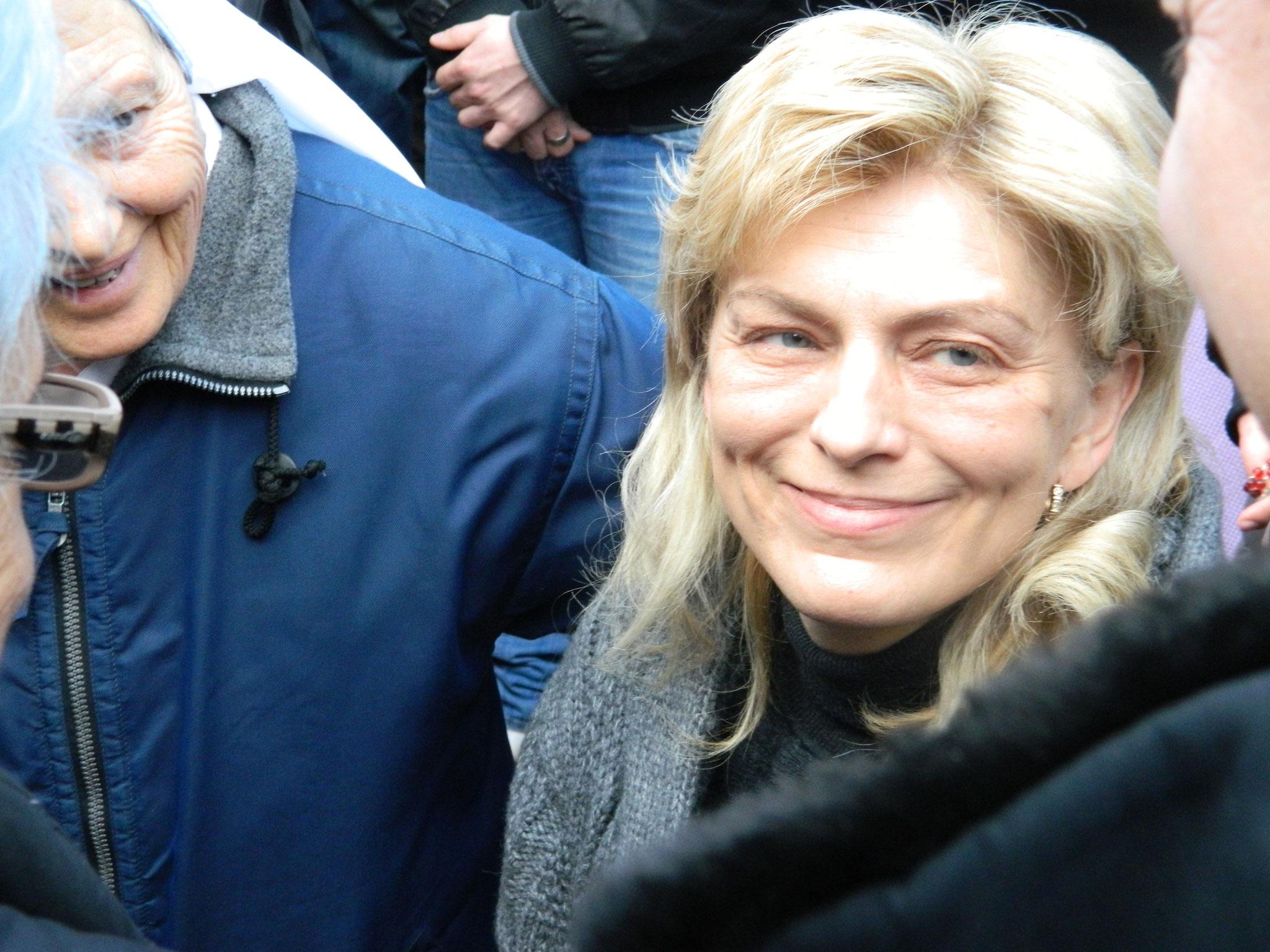 Mirjana après sa rencontre avec la Sainte Vierge