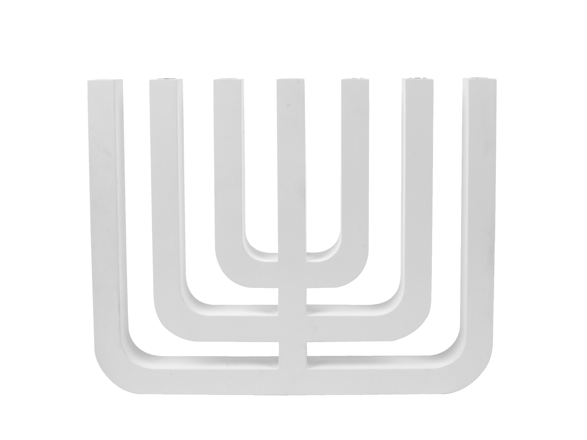 Menorah craftzz de website van margrietfoolen it was been a symbol of judaism since ancient times margriet foolen was inspired by the beautiful and archetypical chandelier she designed a modern biocorpaavc Choice Image