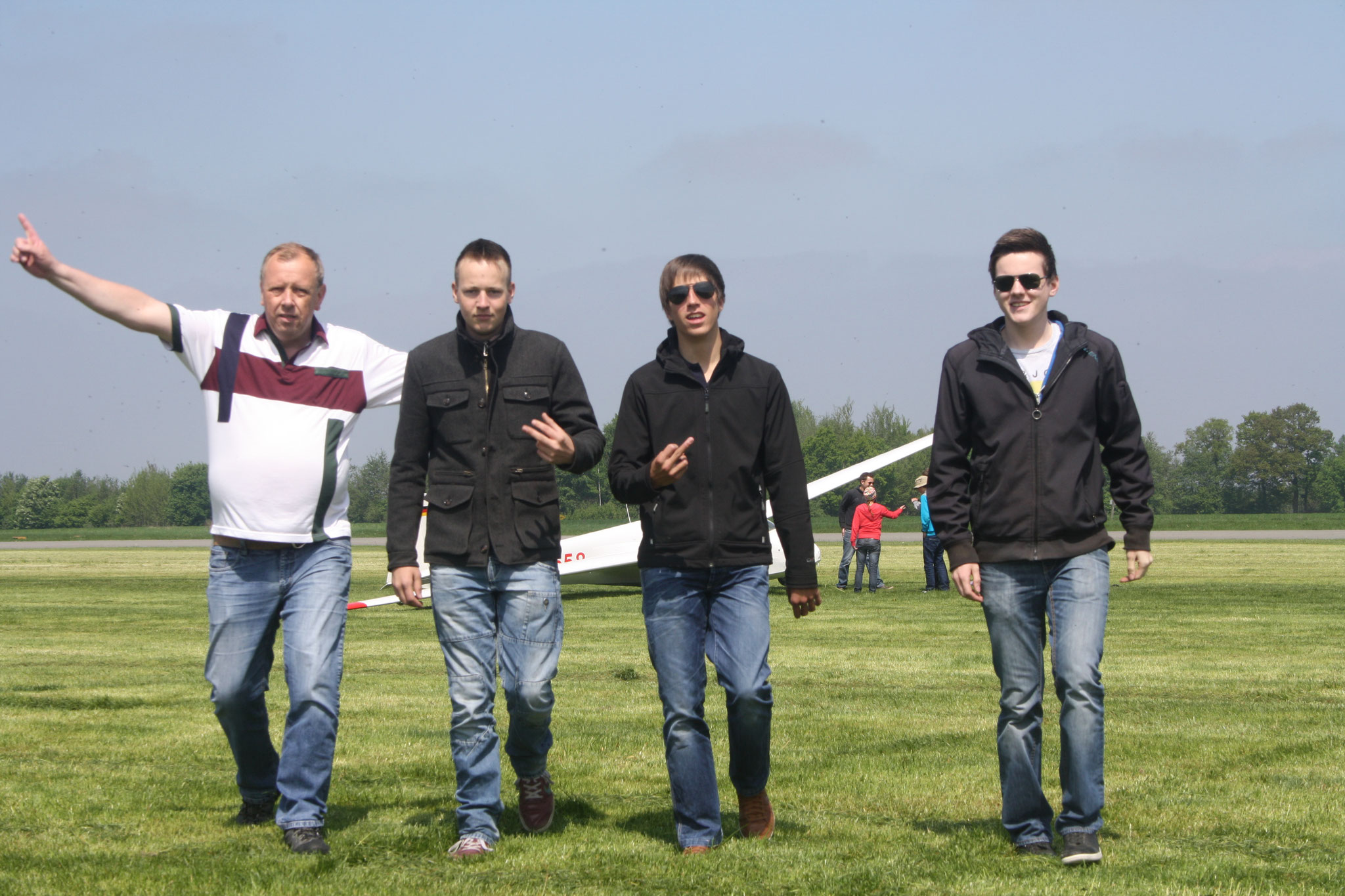 Holger, Frederik, Tobi & Nicolas