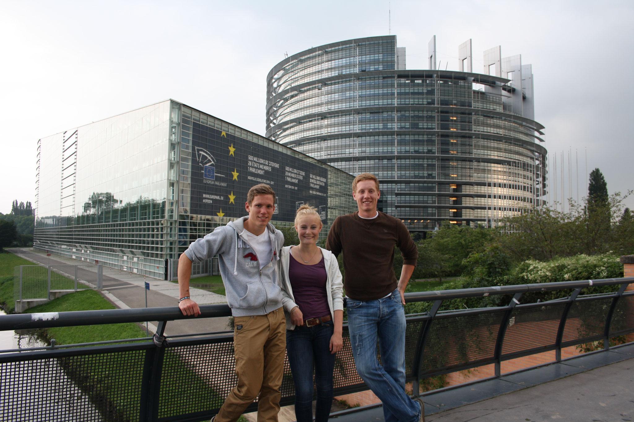 Ausflug nach Strasburg - Fritz, Julia & Michi