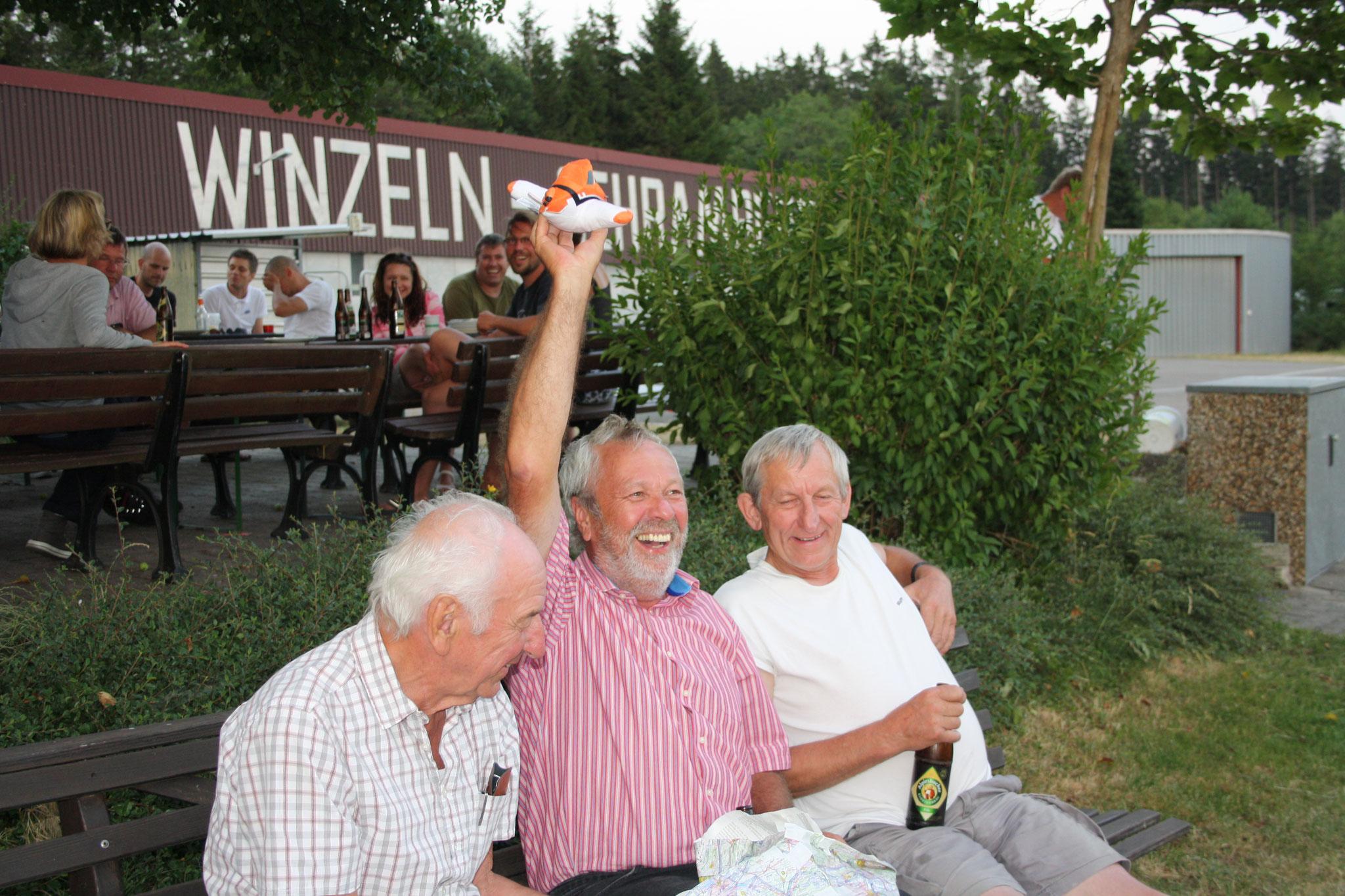 Lagergeschenk für Bernd - Winzeln 2015