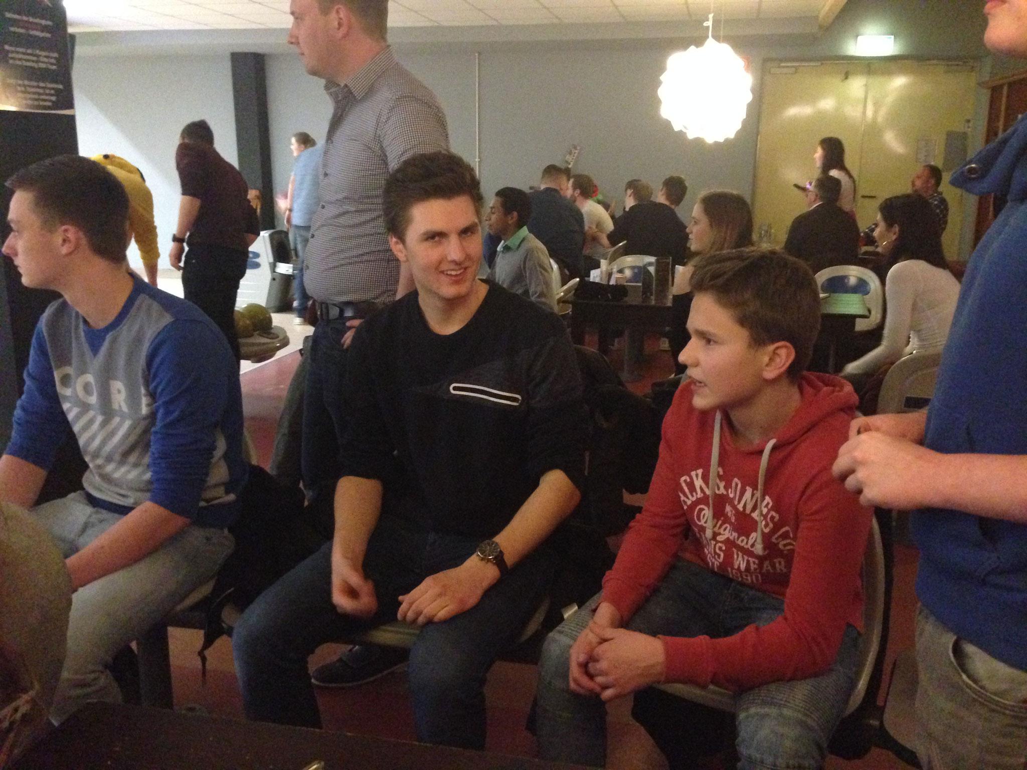 v.l.: Christoph, Pascal & Philipp