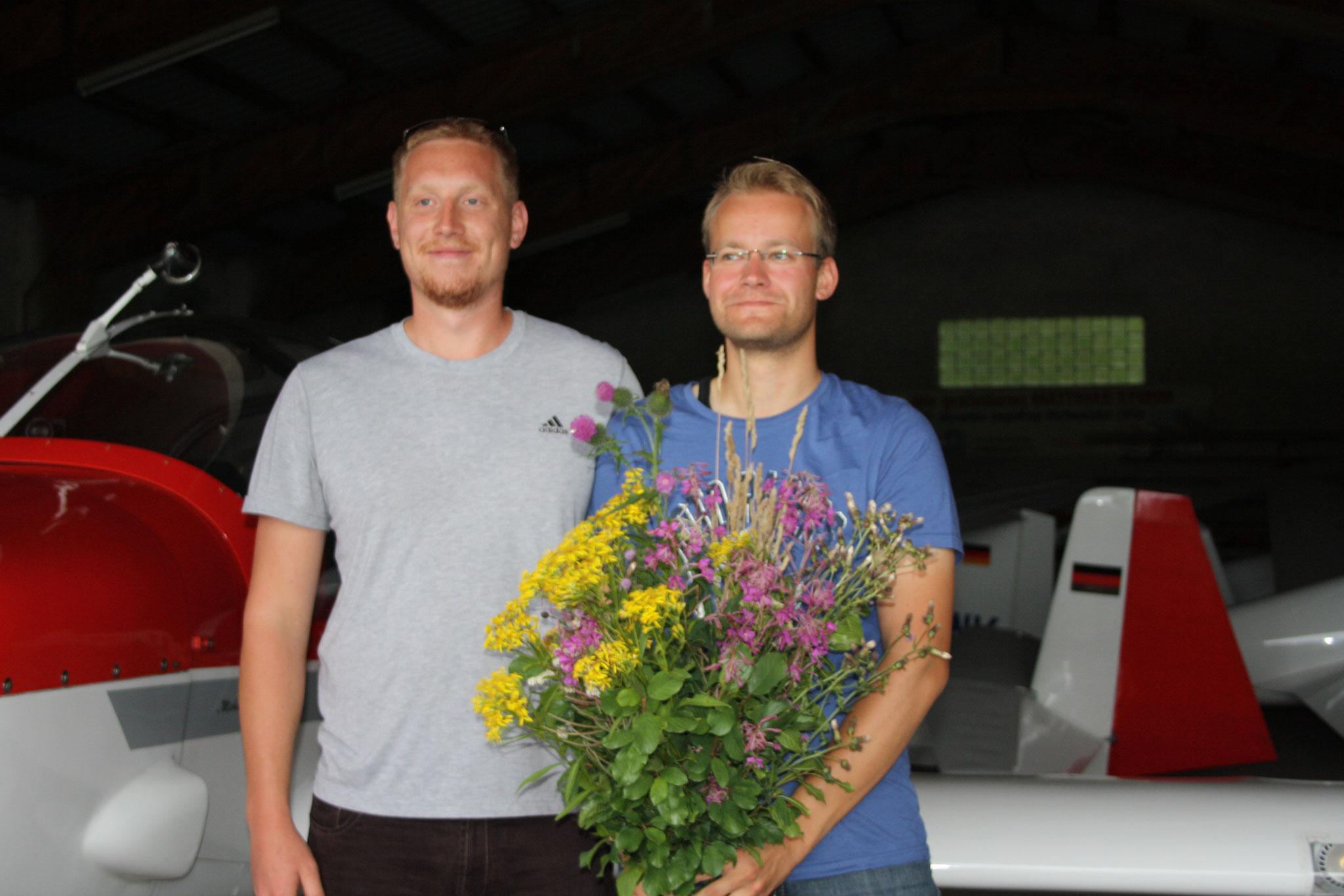 Herzlichen Glückwunsch, Philipp!