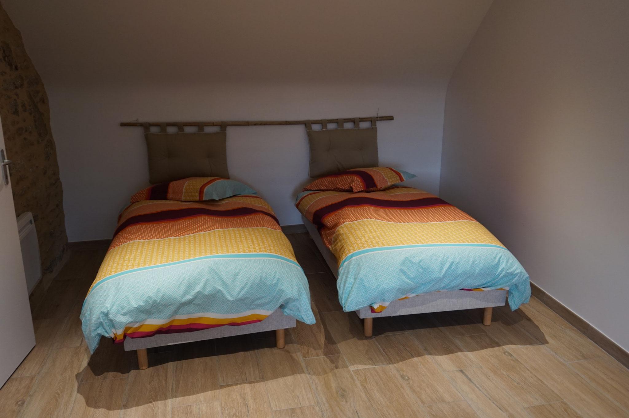 Kamer 2 bedden 90x200
