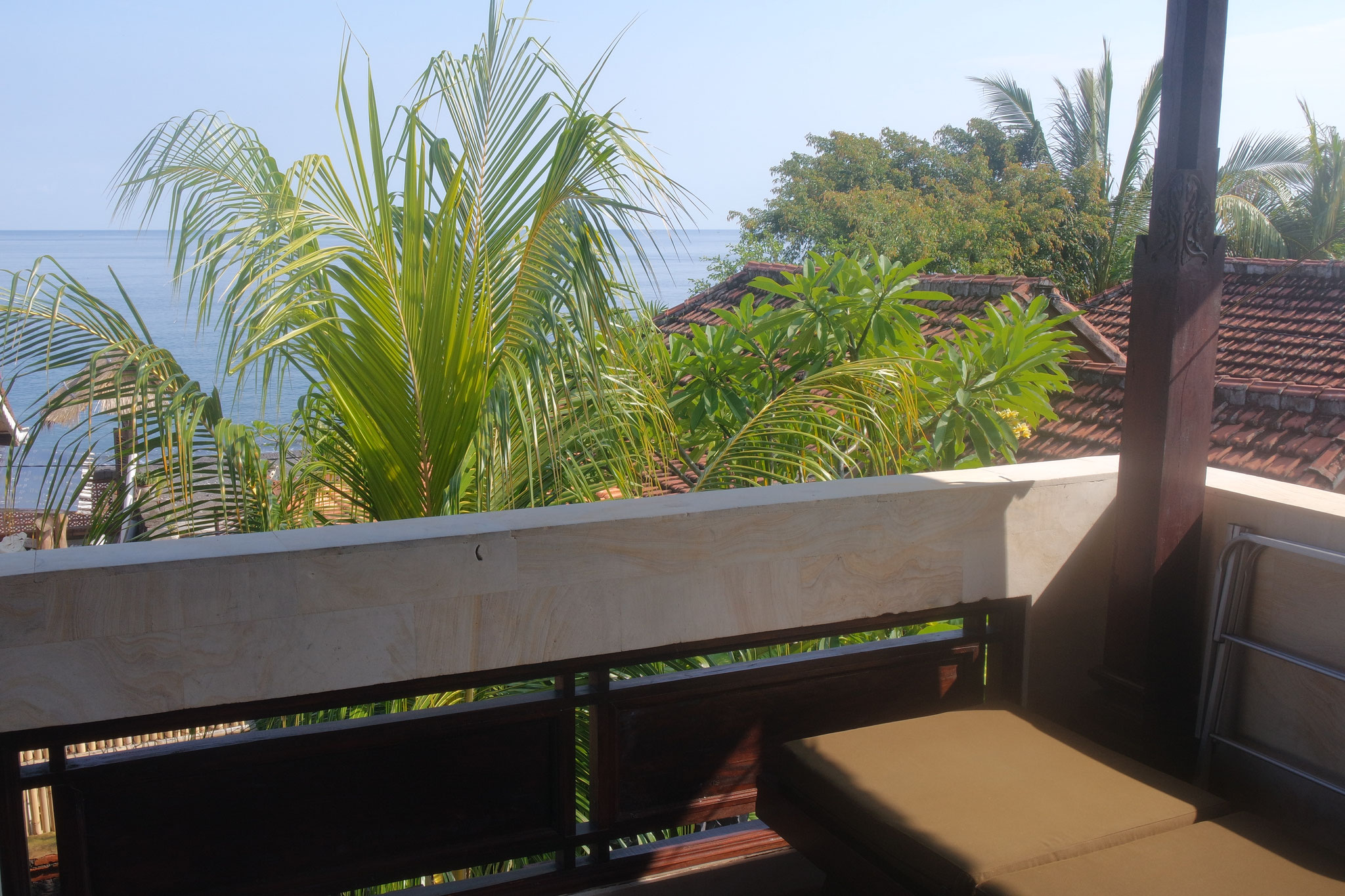 Bulih Beach Bungalows - Room 3 / Sea View