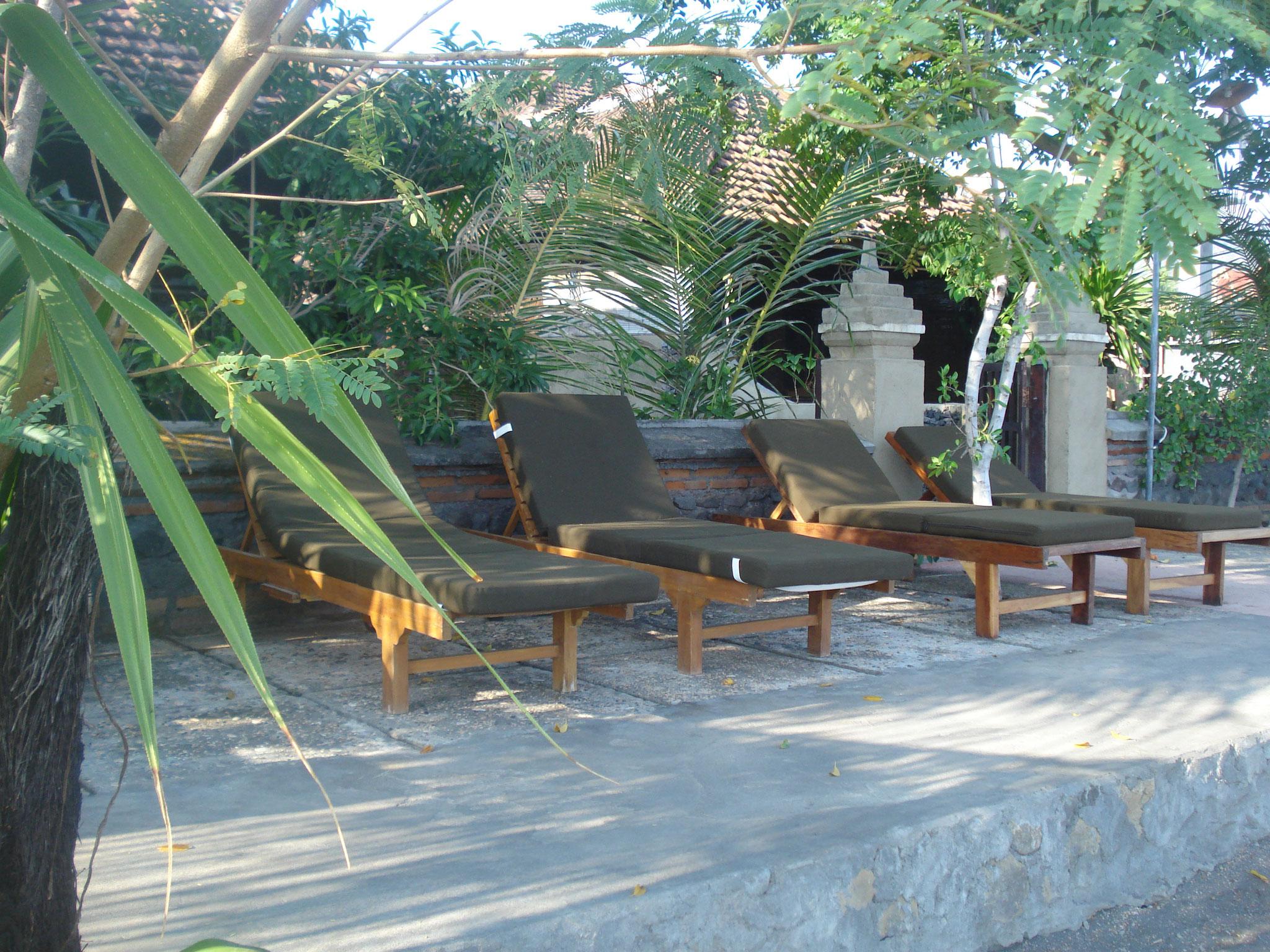 Bulih Beach Bungalows - Beach Terrace